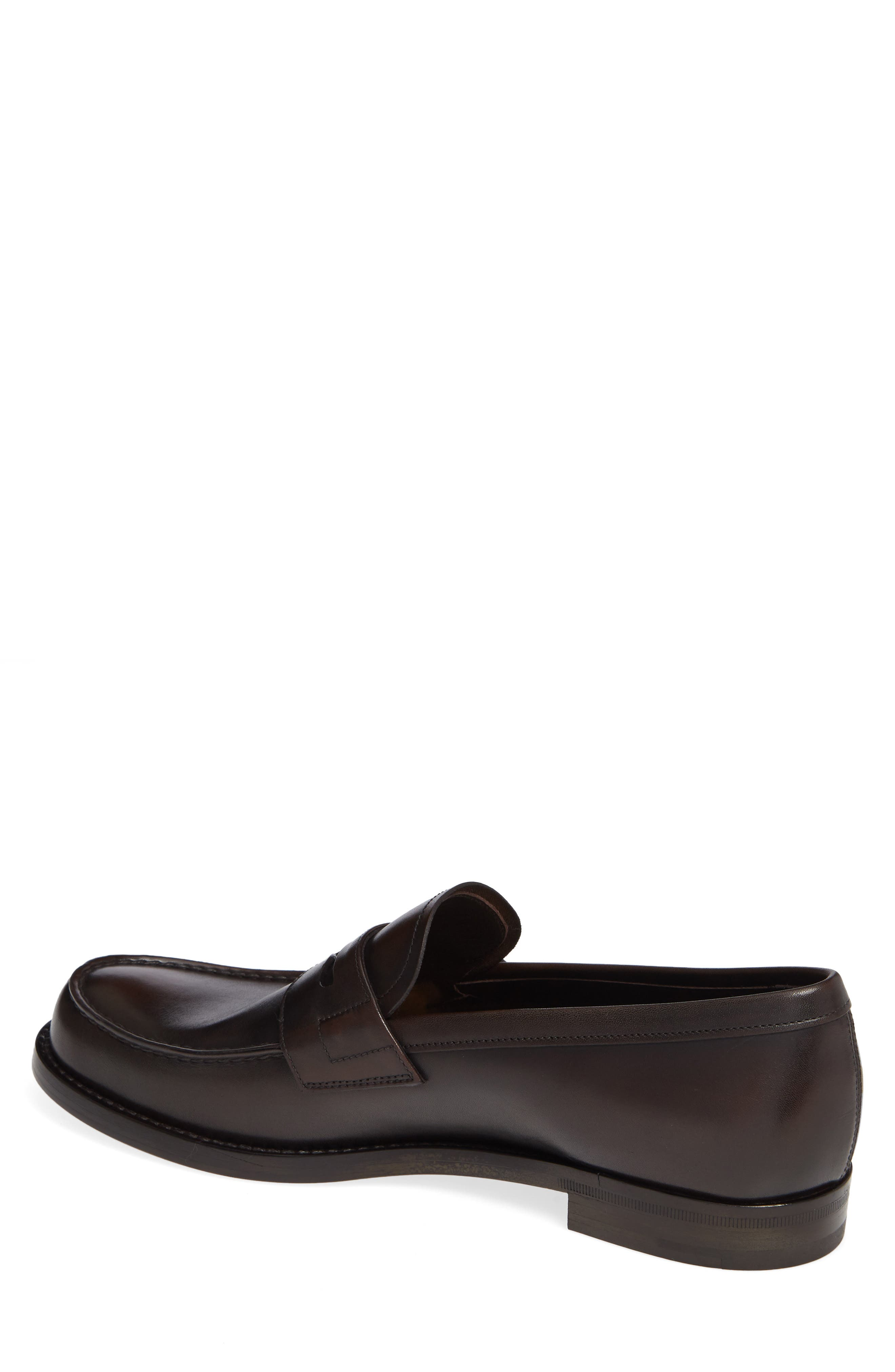 Penny Loafer,                             Alternate thumbnail 2, color,                             MORO BROWN