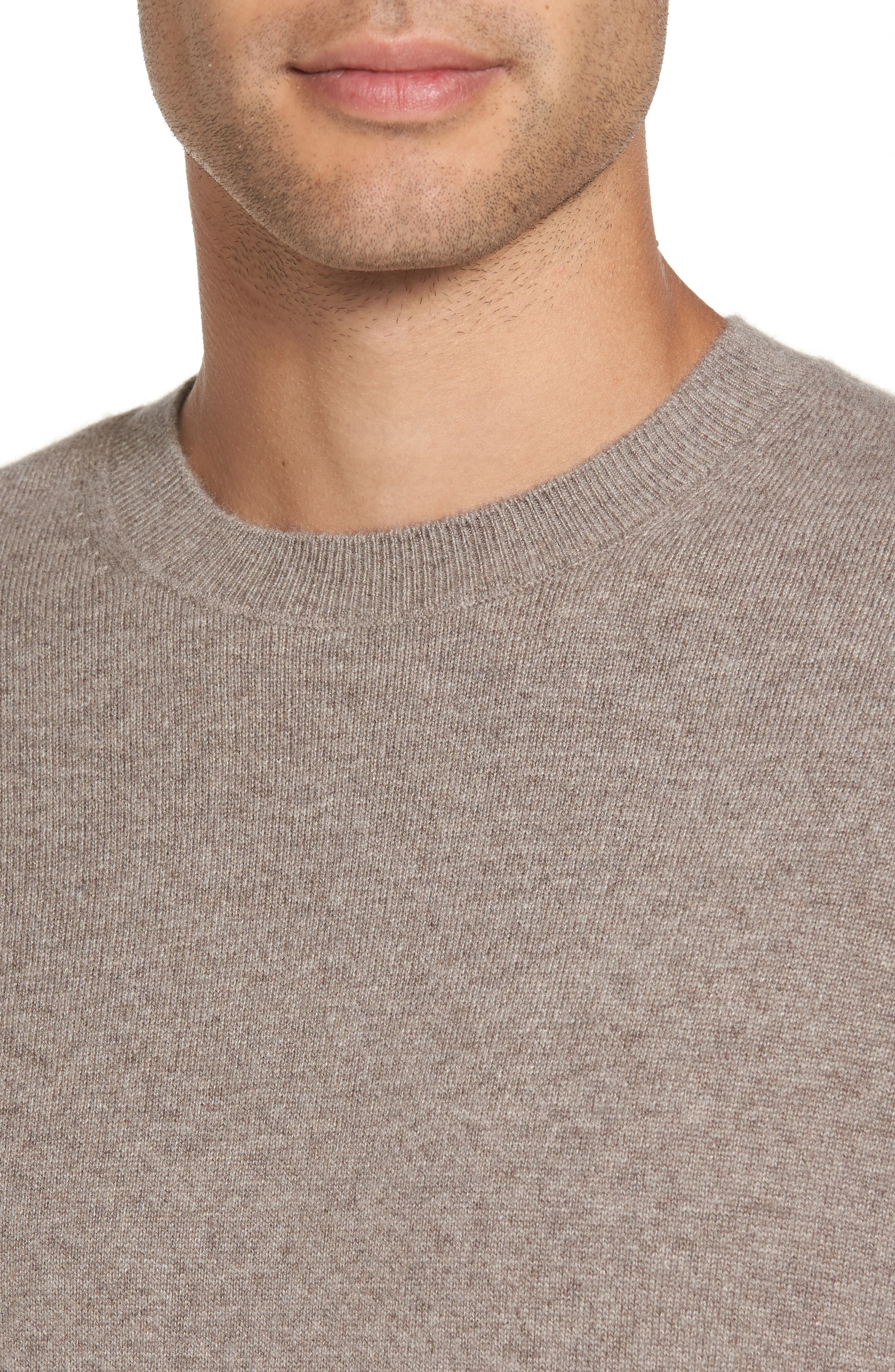 Regular Fit Crewneck Sweater,                             Alternate thumbnail 4, color,                             281