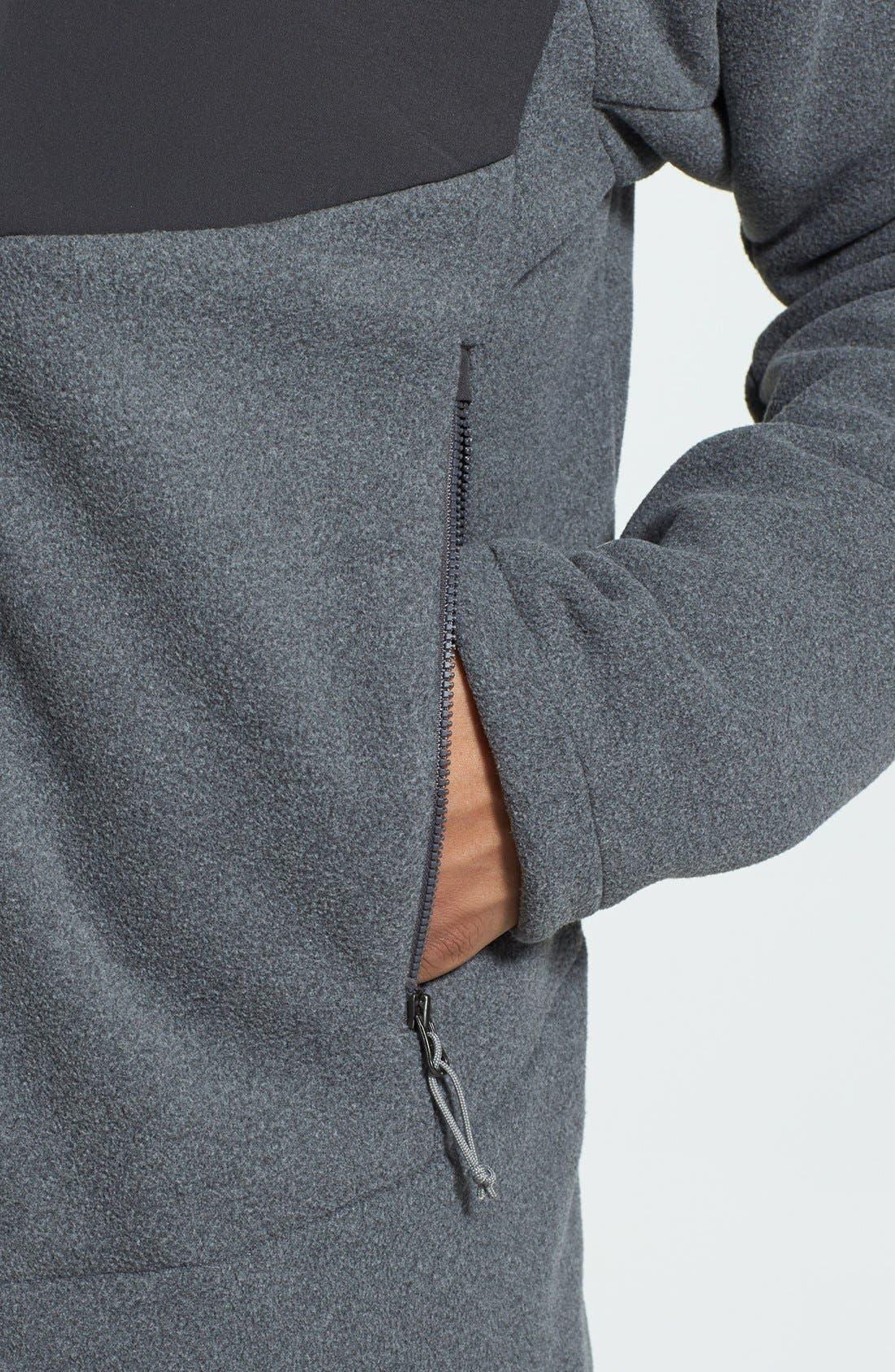 'Chimborazo' Zip Front Fleece Jacket,                             Alternate thumbnail 28, color,
