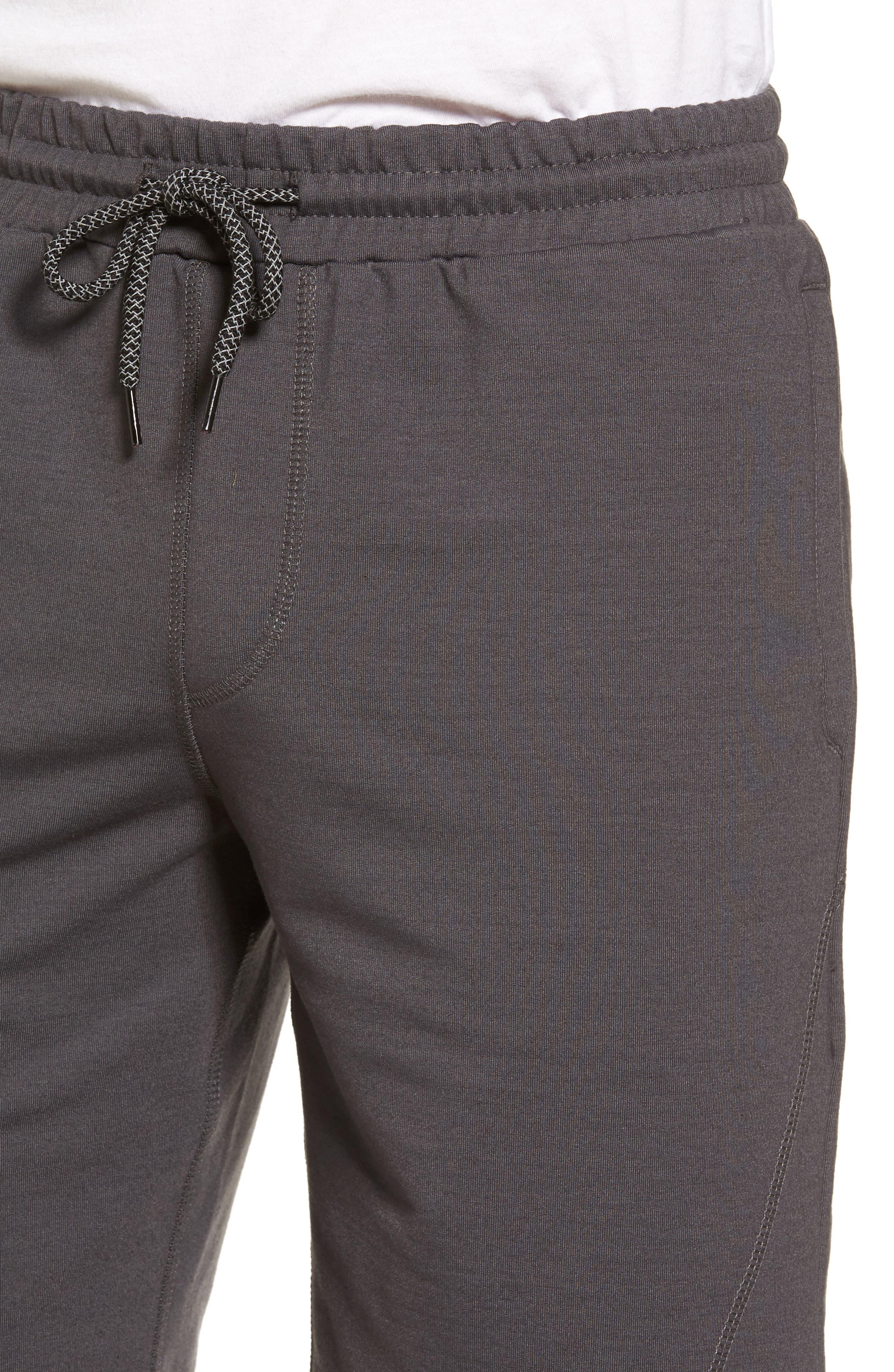 Traveler Fleece Shorts,                             Alternate thumbnail 4, color,                             020