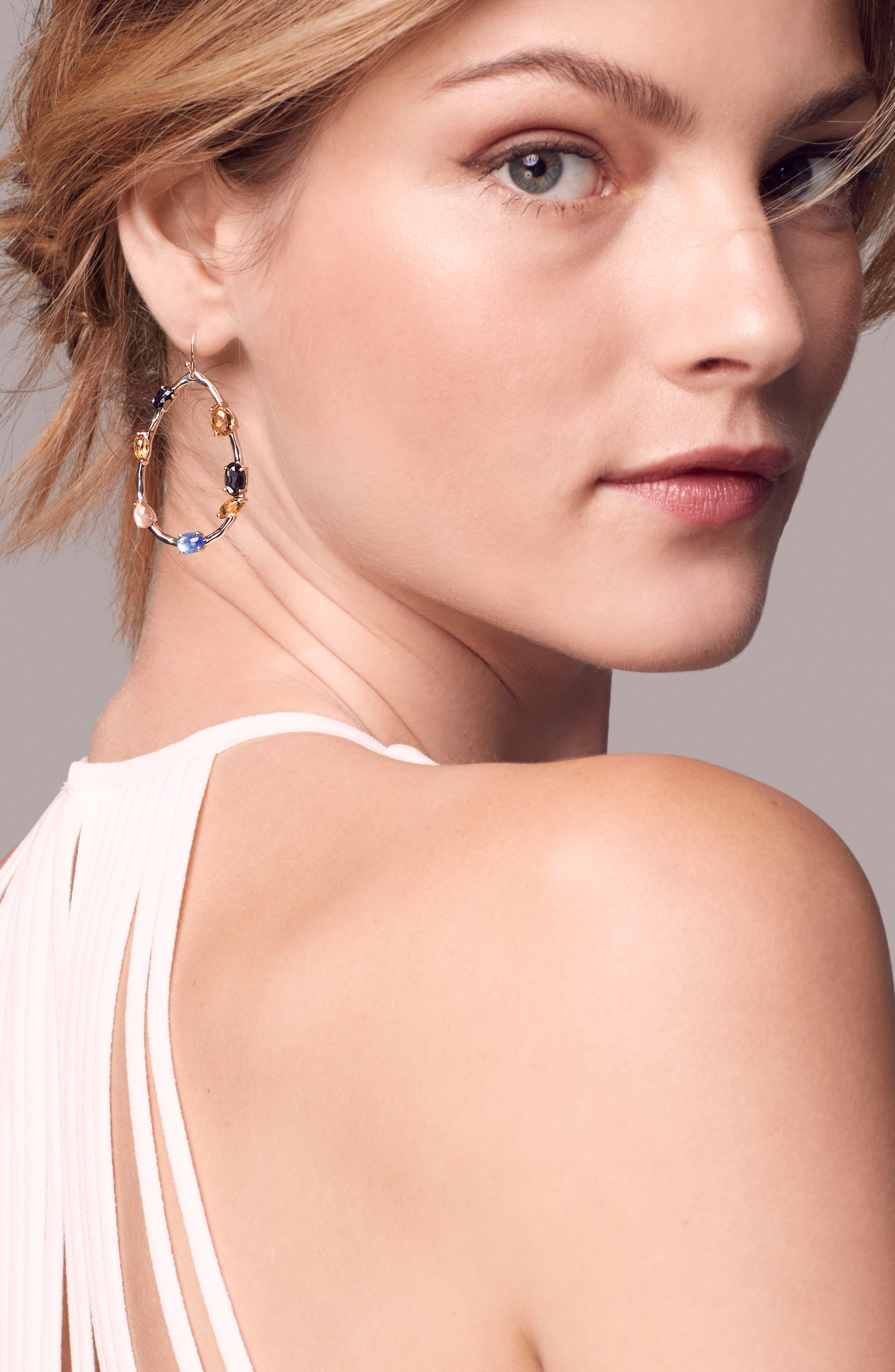 Rock Candy Drop Earrings,                             Alternate thumbnail 3, color,                             POSITANO