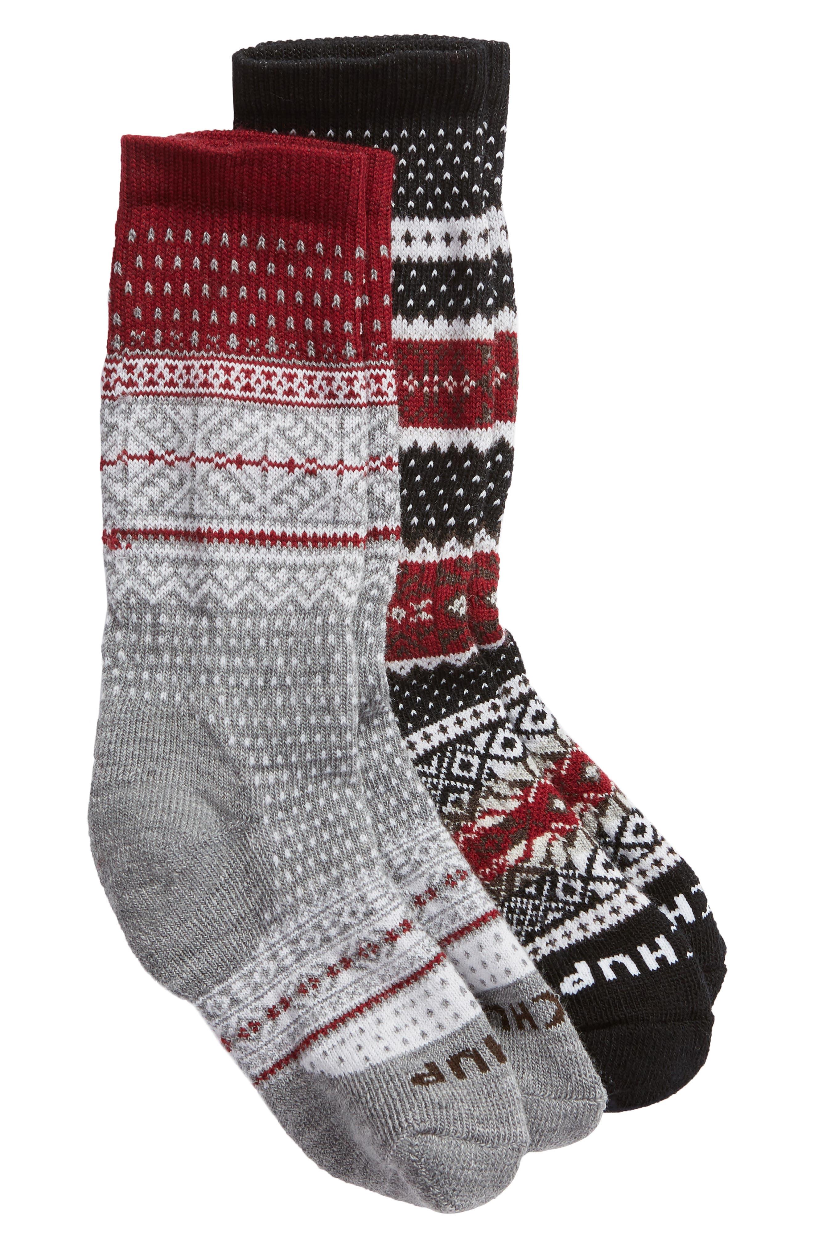SMARTWOOL x CHUP 2-Pack Merino Wool Socks, Main, color, 019
