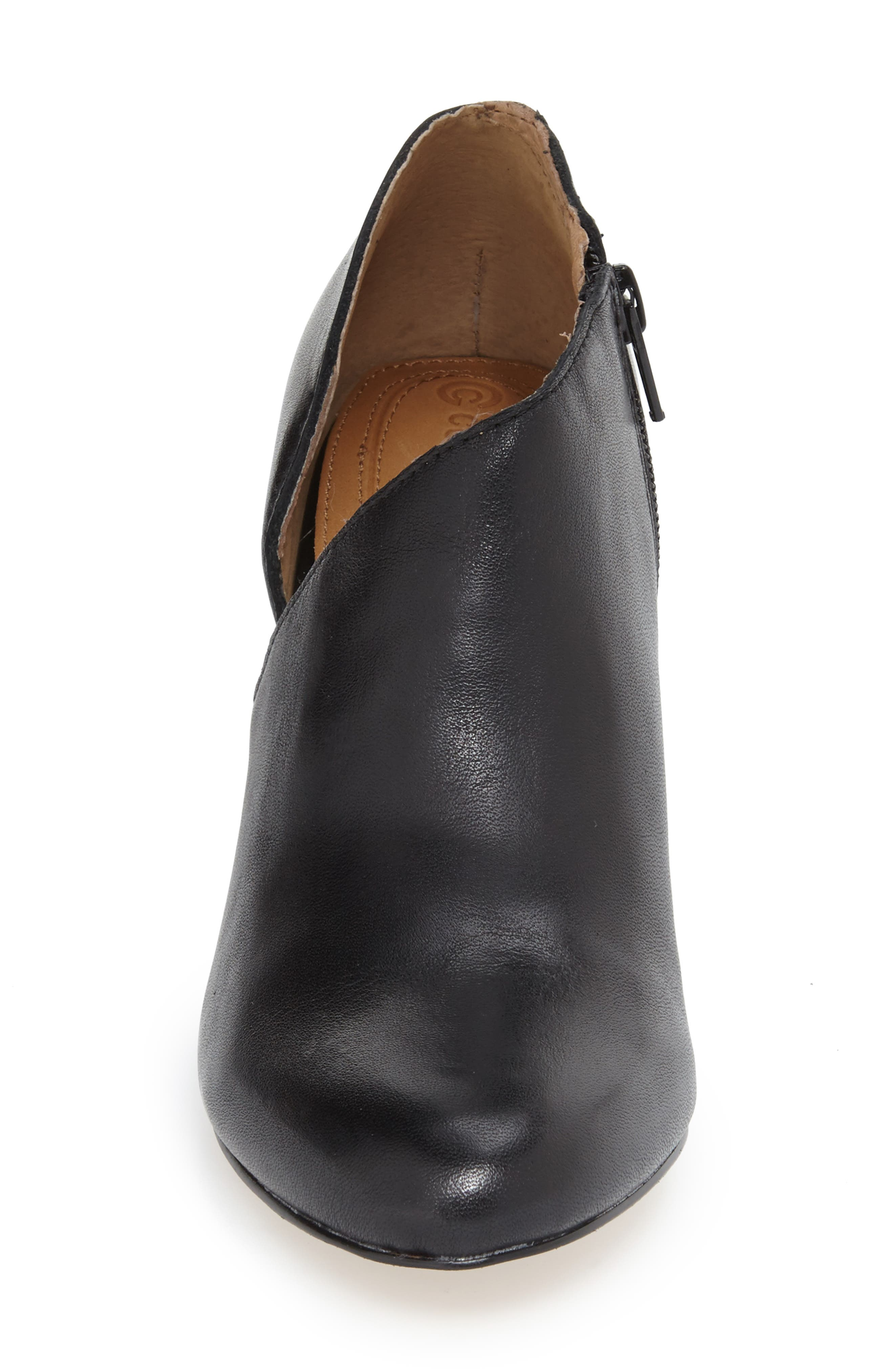 'Yonkers' Almond Toe Cutout Bootie,                             Alternate thumbnail 3, color,                             004