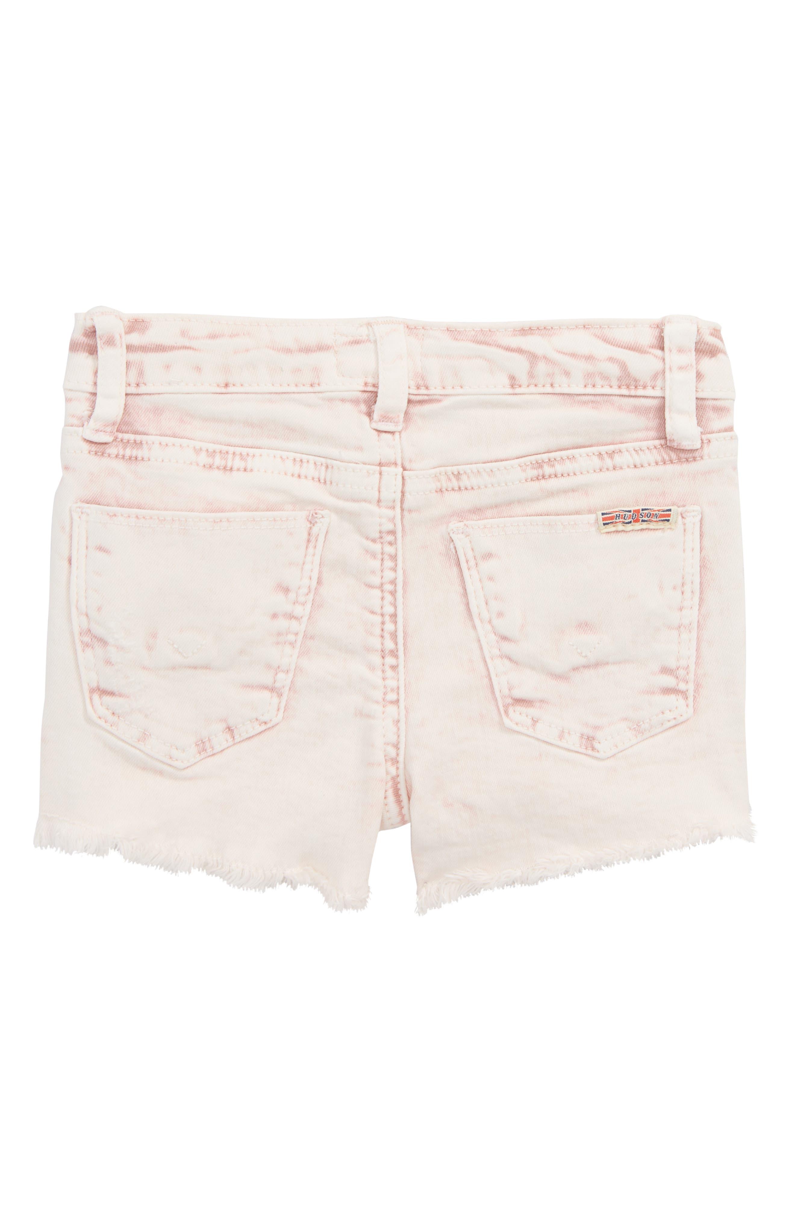 Frayed Acid Wash Shorts,                             Alternate thumbnail 2, color,                             691