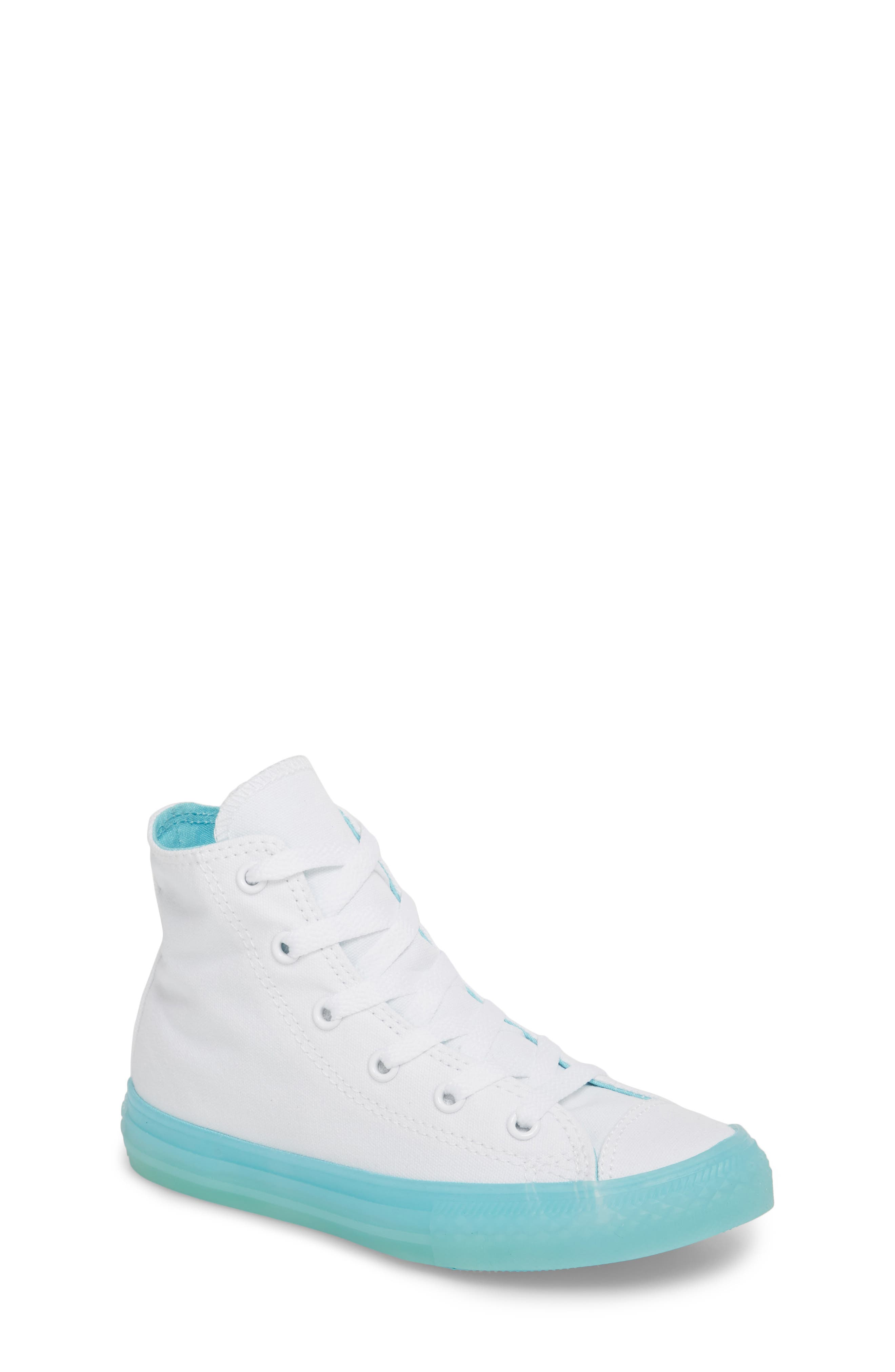 Chuck Taylor<sup>®</sup> All Star<sup>®</sup> Jelly High Top Sneaker,                             Main thumbnail 1, color,                             405