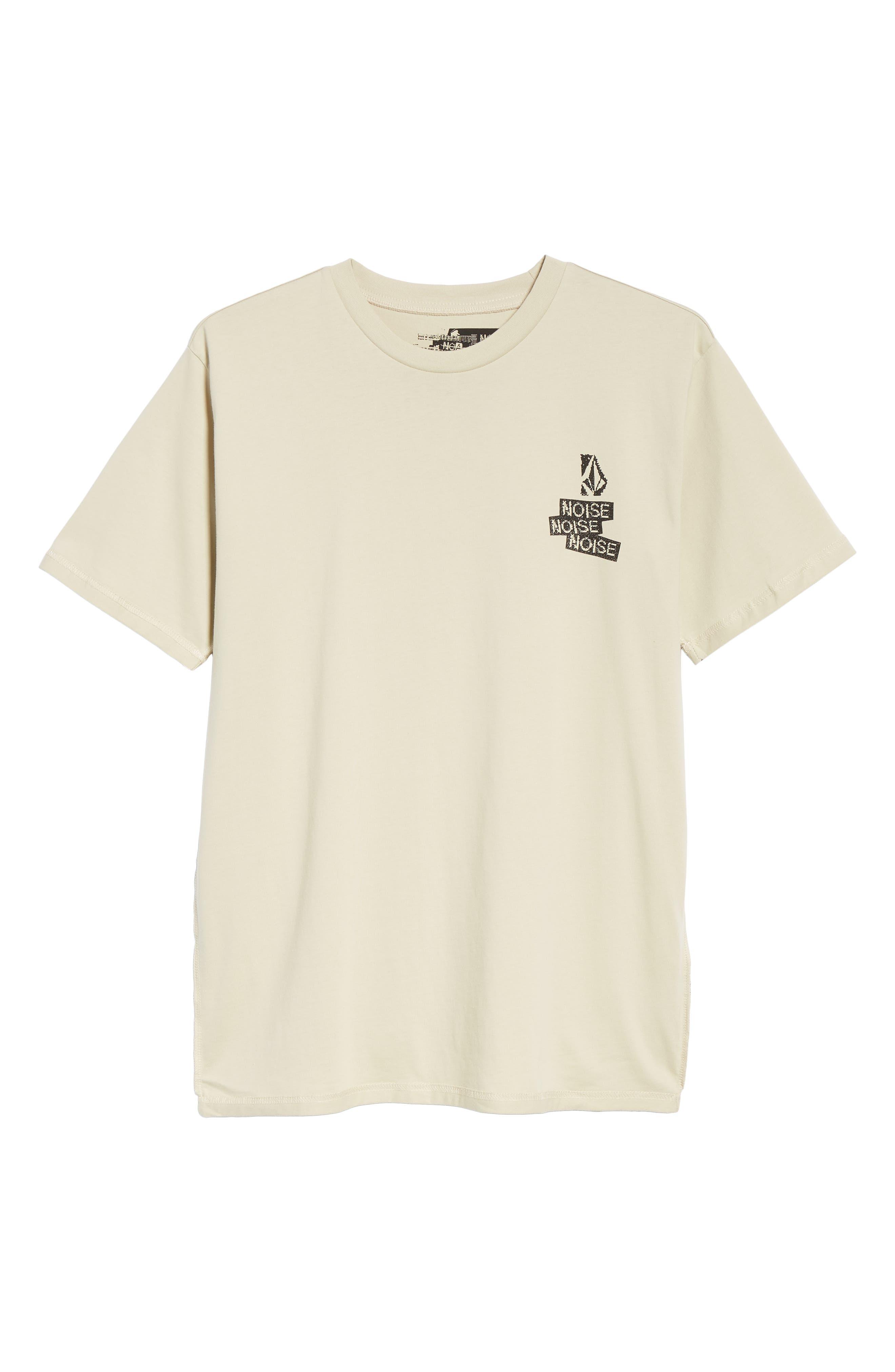 Noa Noise Graphic T-Shirt,                             Alternate thumbnail 6, color,                             283