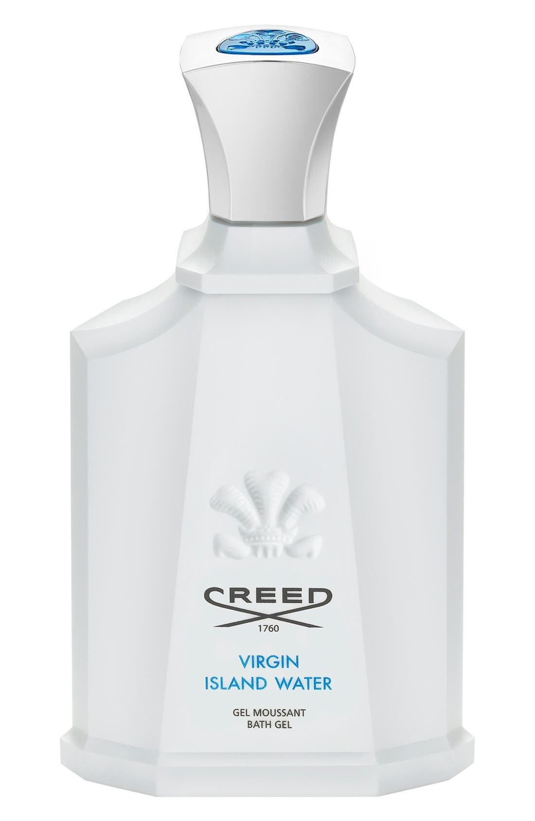 'Virgin Island Water' Shower Gel,                             Main thumbnail 1, color,                             NO COLOR