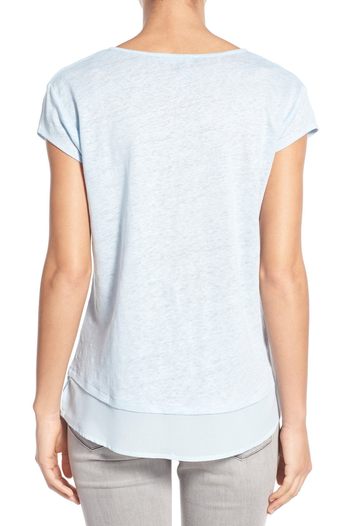 City Mix Layered Look Tee,                             Alternate thumbnail 82, color,