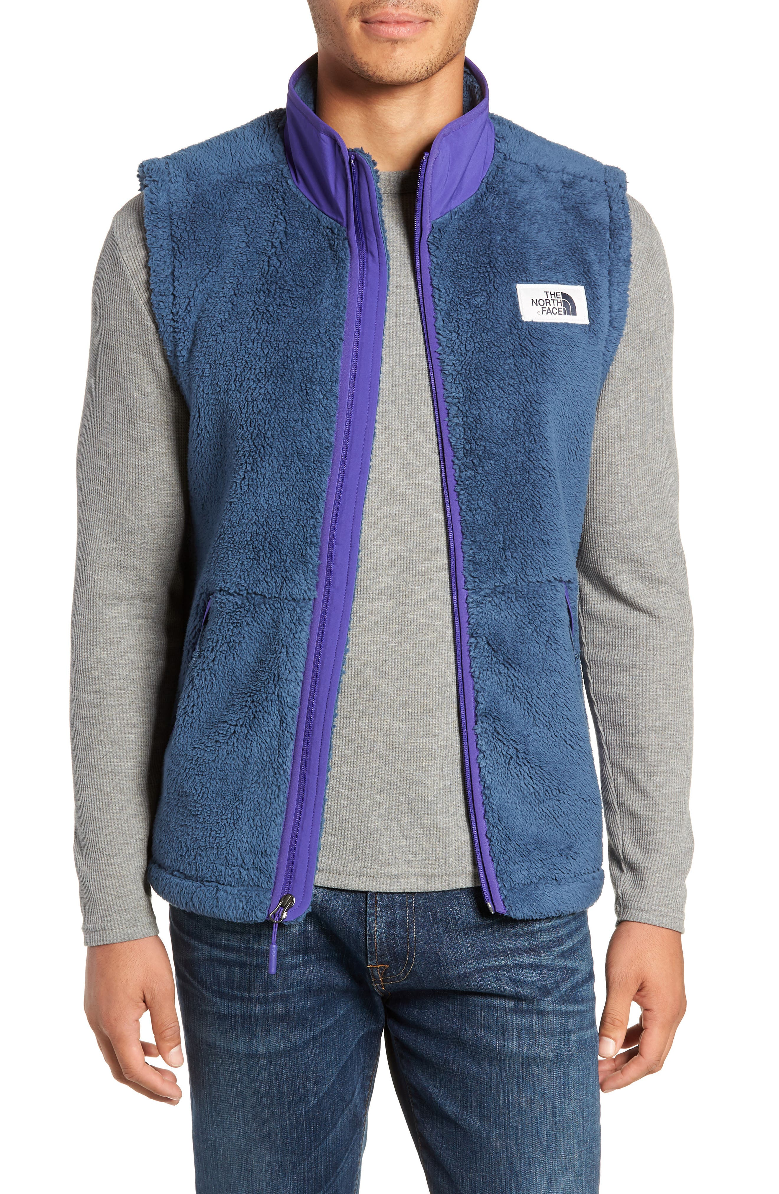 The North Face Campshire Fleece Vest, Blue