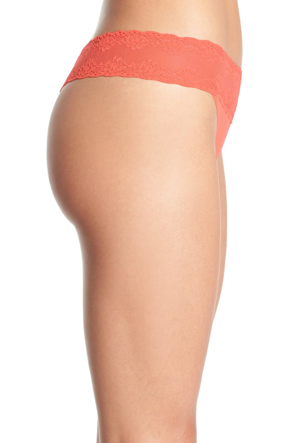 Bliss Perfection Thong,                             Alternate thumbnail 197, color,
