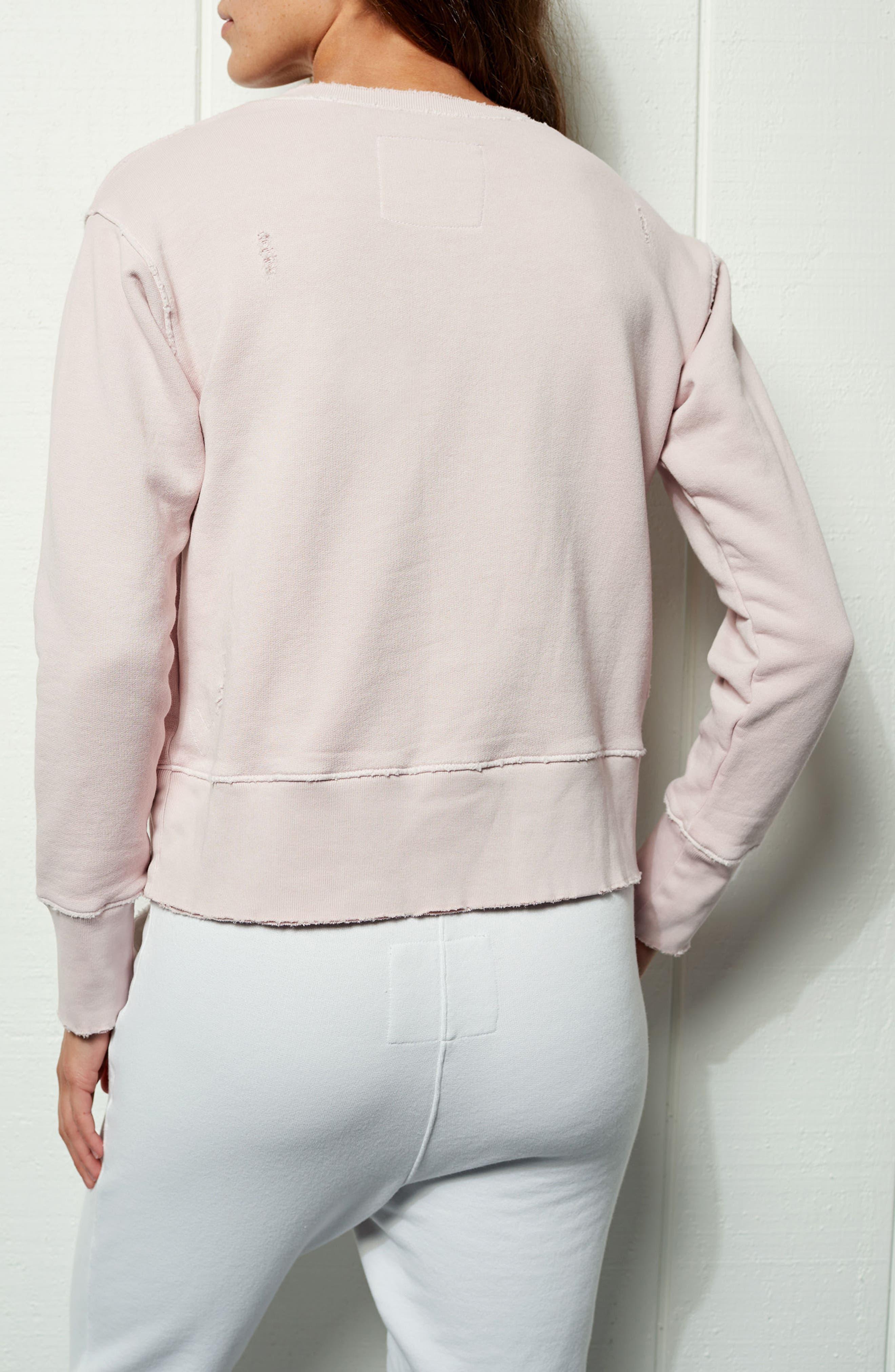 Tee Lab Cotton Sweatshirt,                             Alternate thumbnail 7, color,