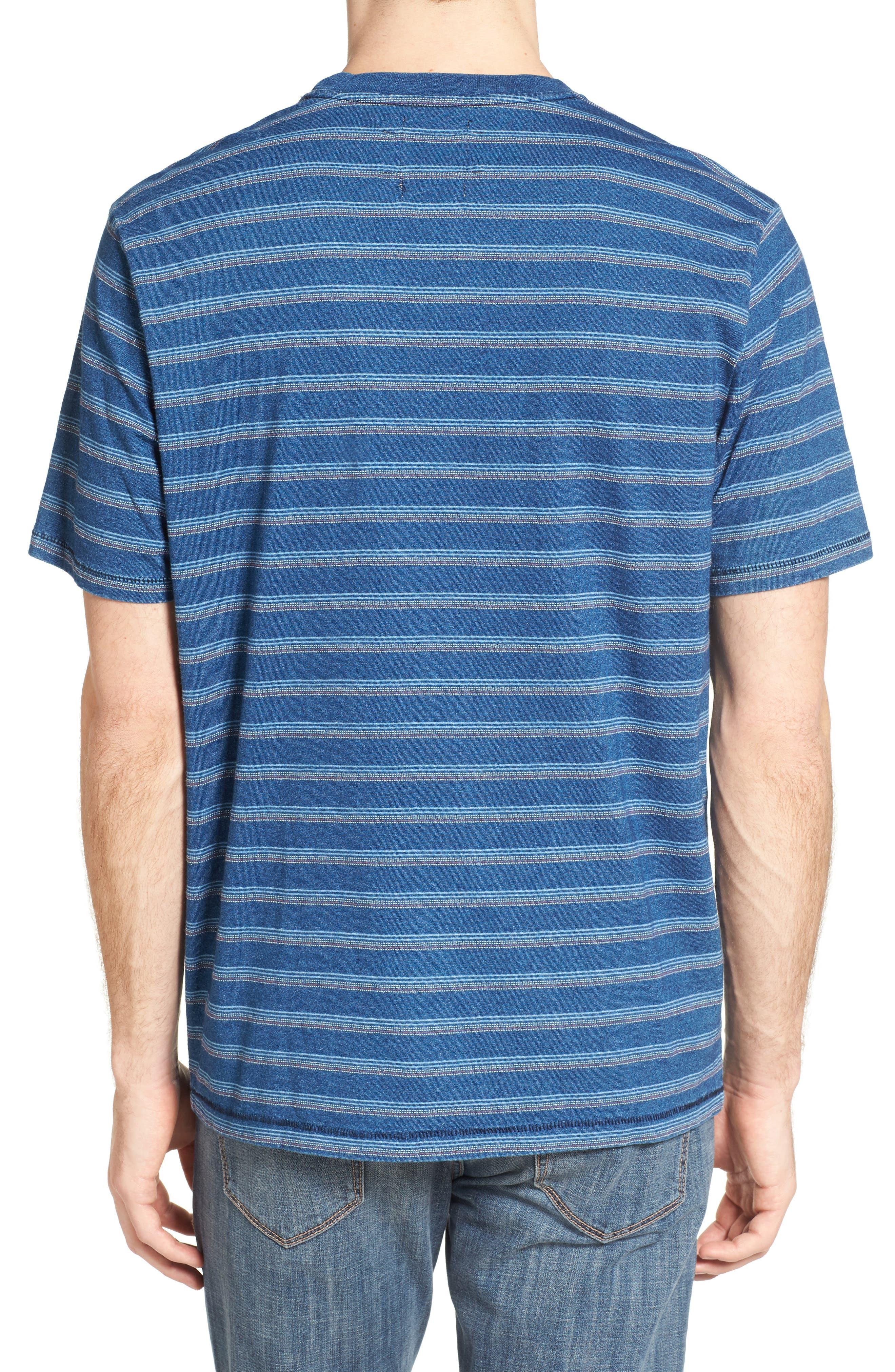 Stripe T-Shirt,                             Alternate thumbnail 2, color,                             405