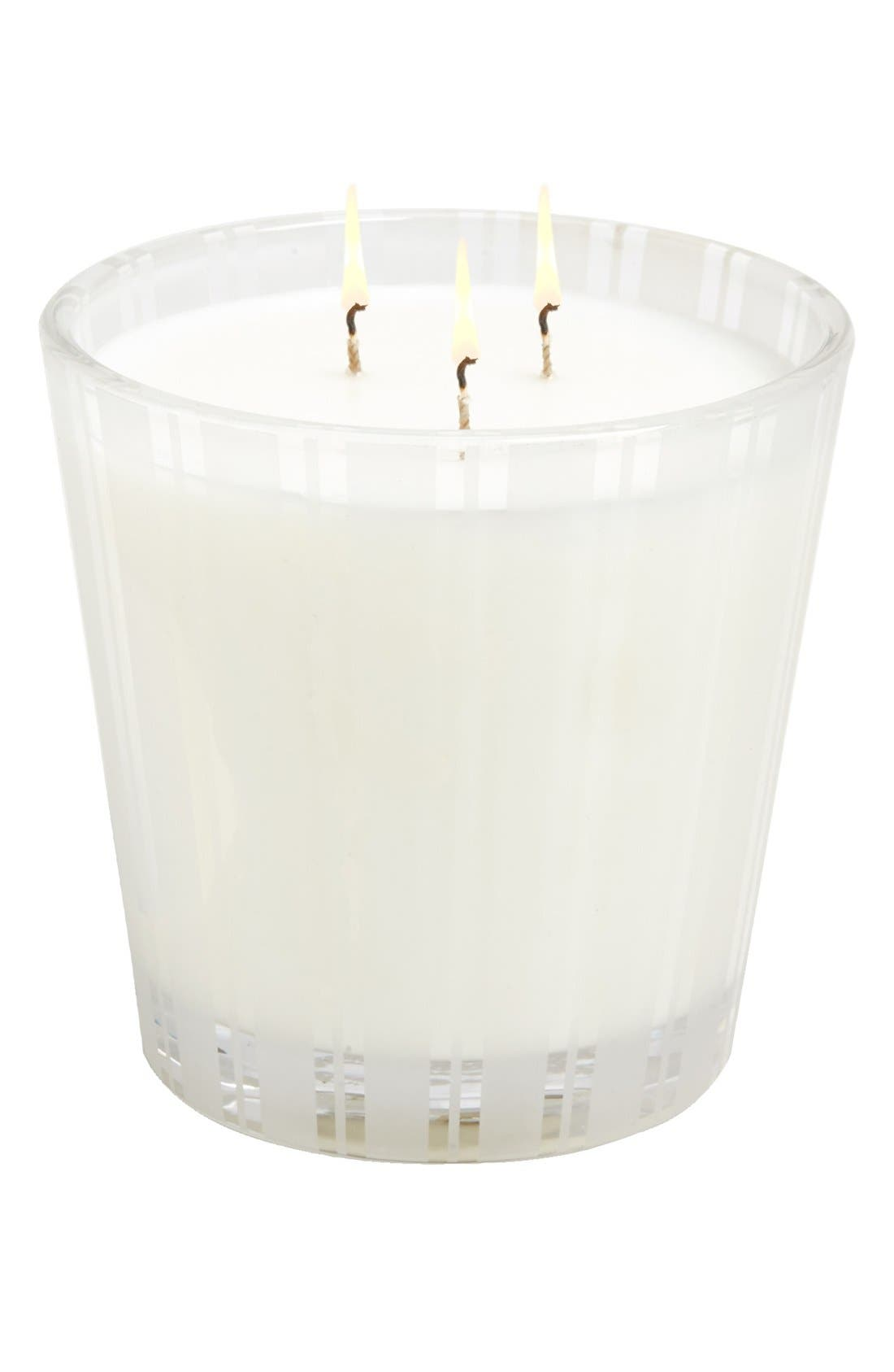 Vanilla Orchid & Almond 3-Wick Candle,                             Alternate thumbnail 2, color,                             000