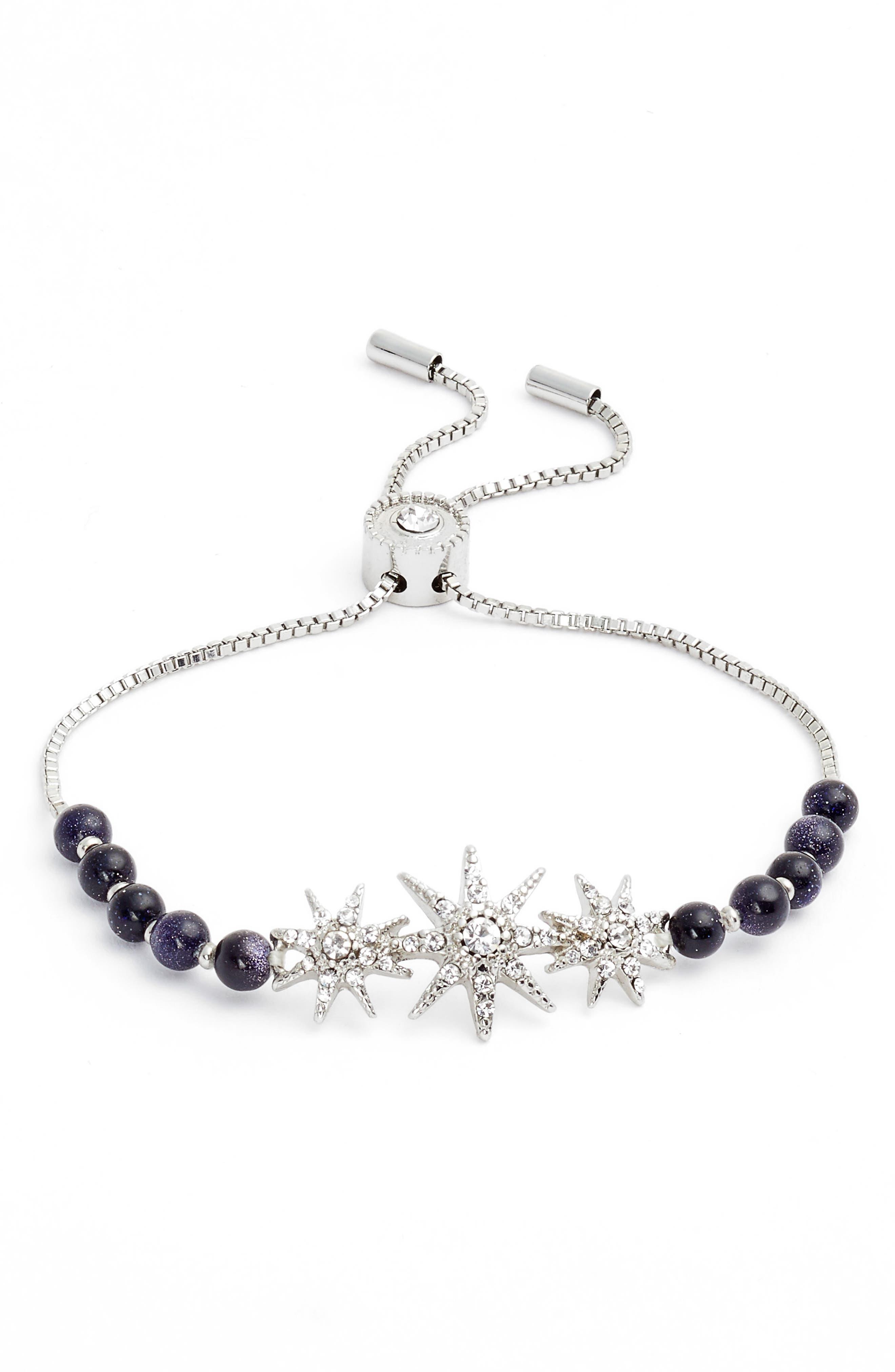 Star Adjustable Bracelet,                         Main,                         color, 040