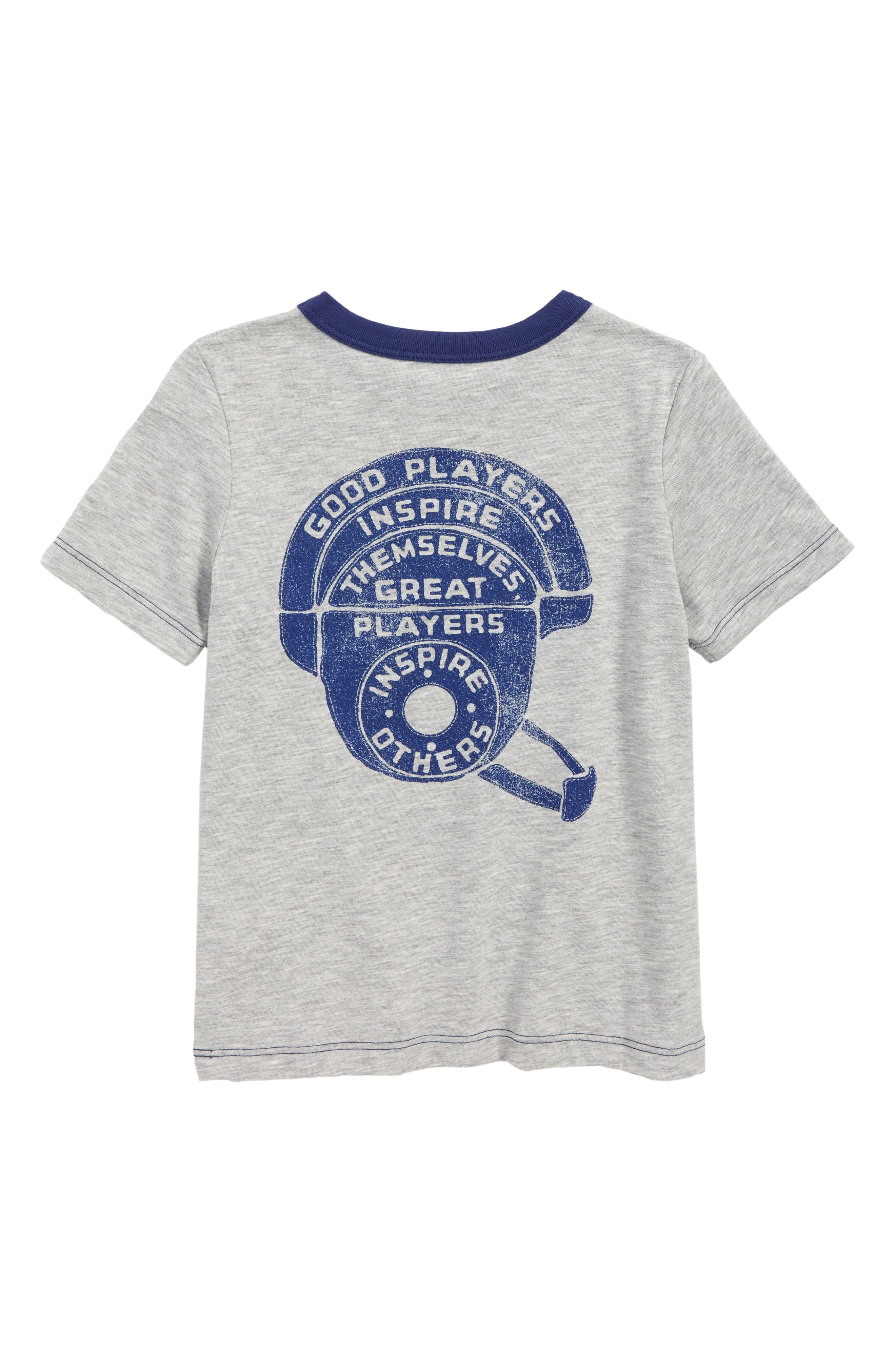Hustle & Heart Graphic T-Shirt,                             Alternate thumbnail 2, color,                             054