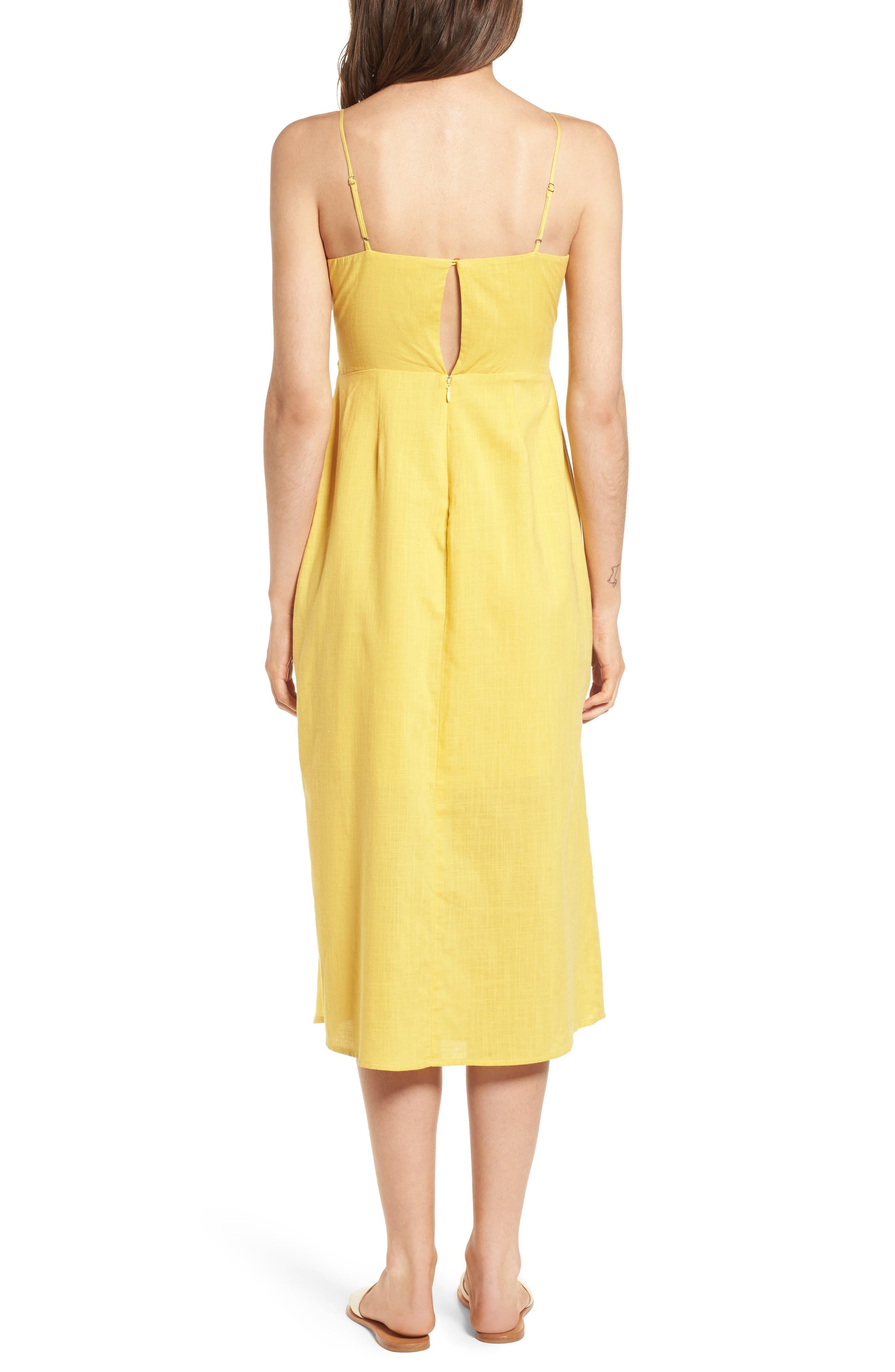 Cutout Midi Dress,                             Alternate thumbnail 2, color,                             700