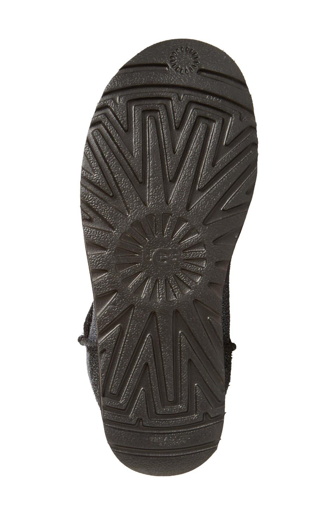 UGG 'Classic Mini Serein' Genuine Shearling Boot,                             Alternate thumbnail 3, color,                             001