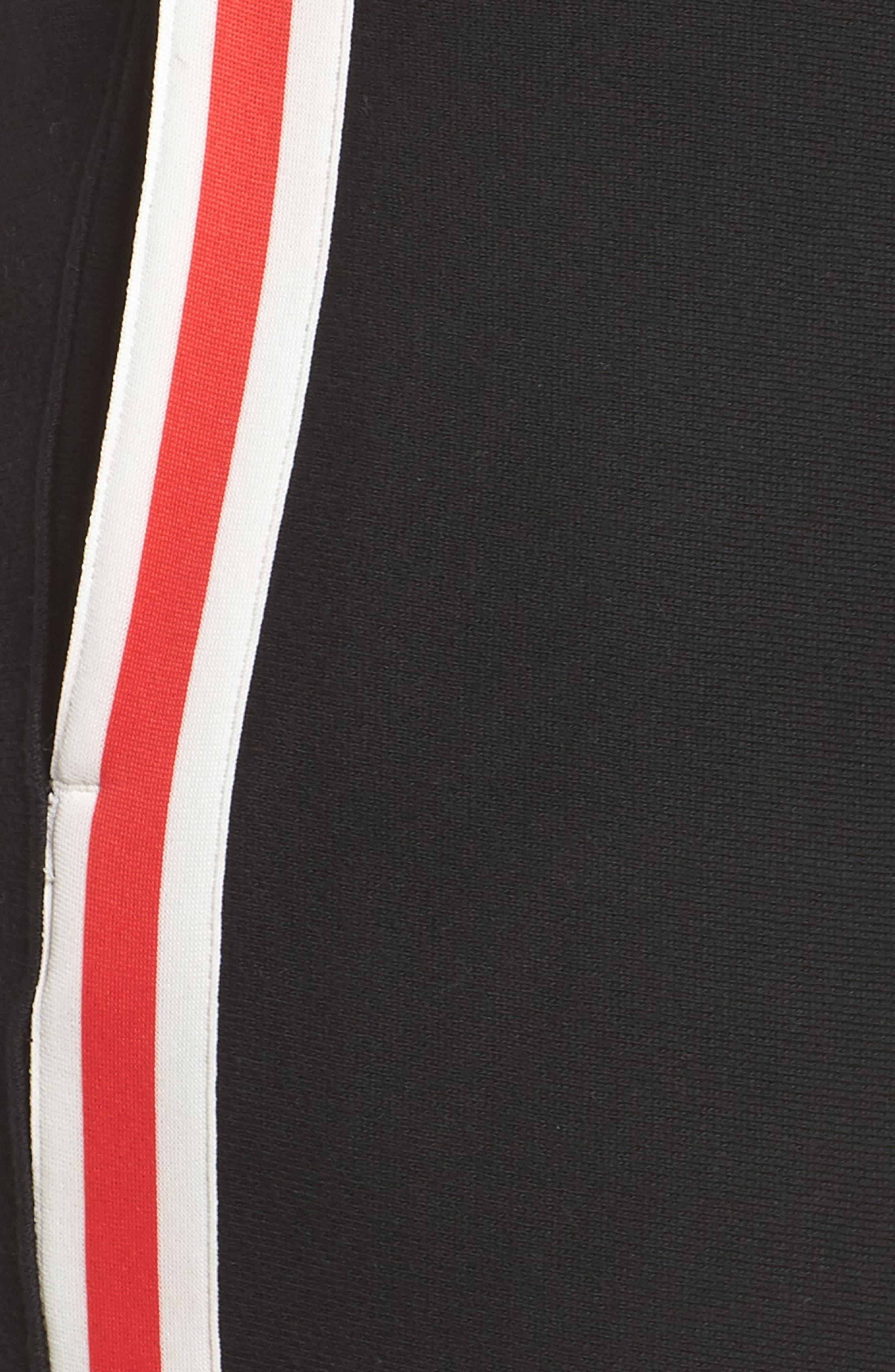 Color Block Jogger Pants,                             Alternate thumbnail 9, color,                             BLACK/ GRANITE HEATHER