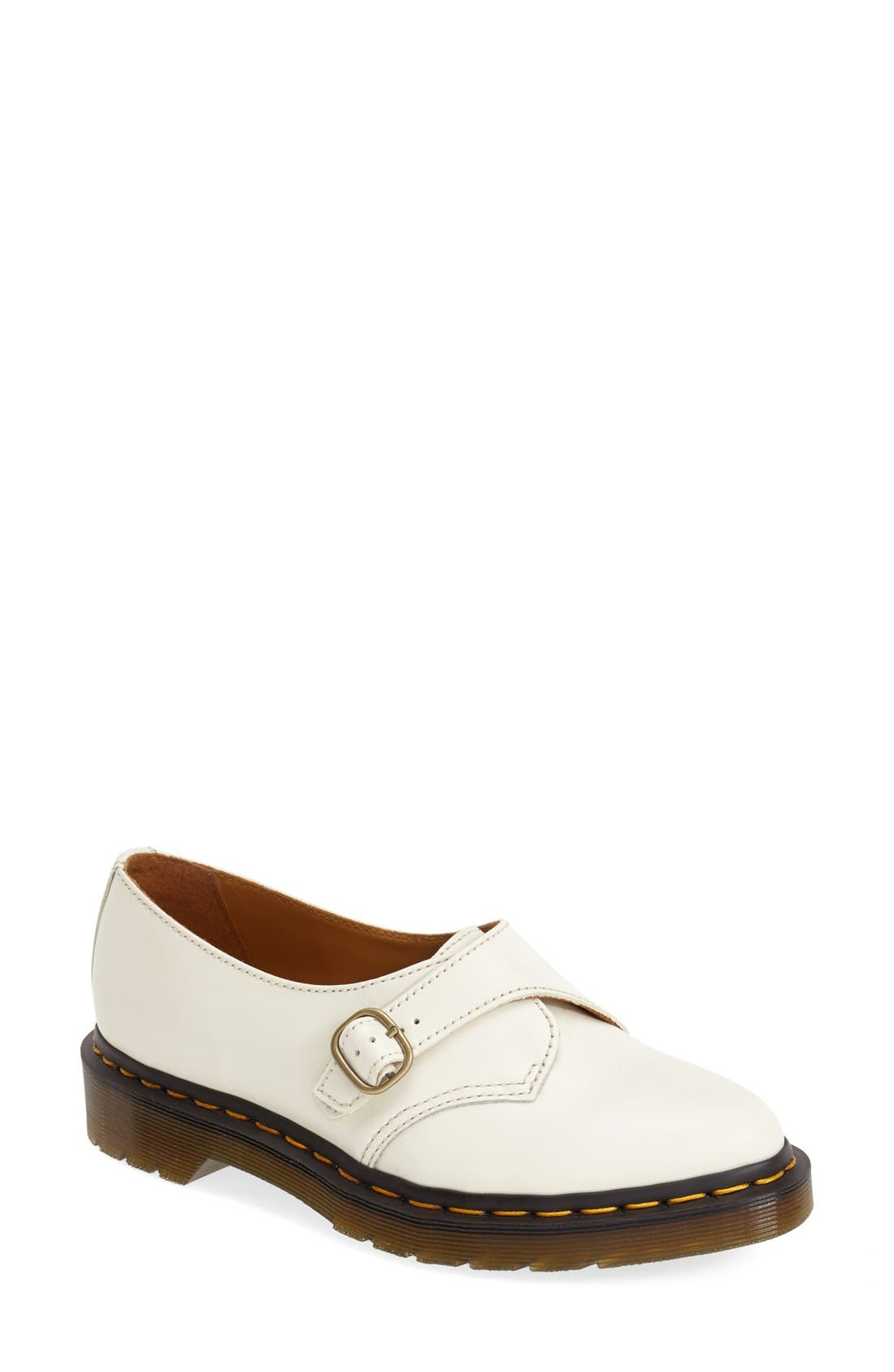 'Agnes' Monk Strap Flat,                             Main thumbnail 1, color,                             100