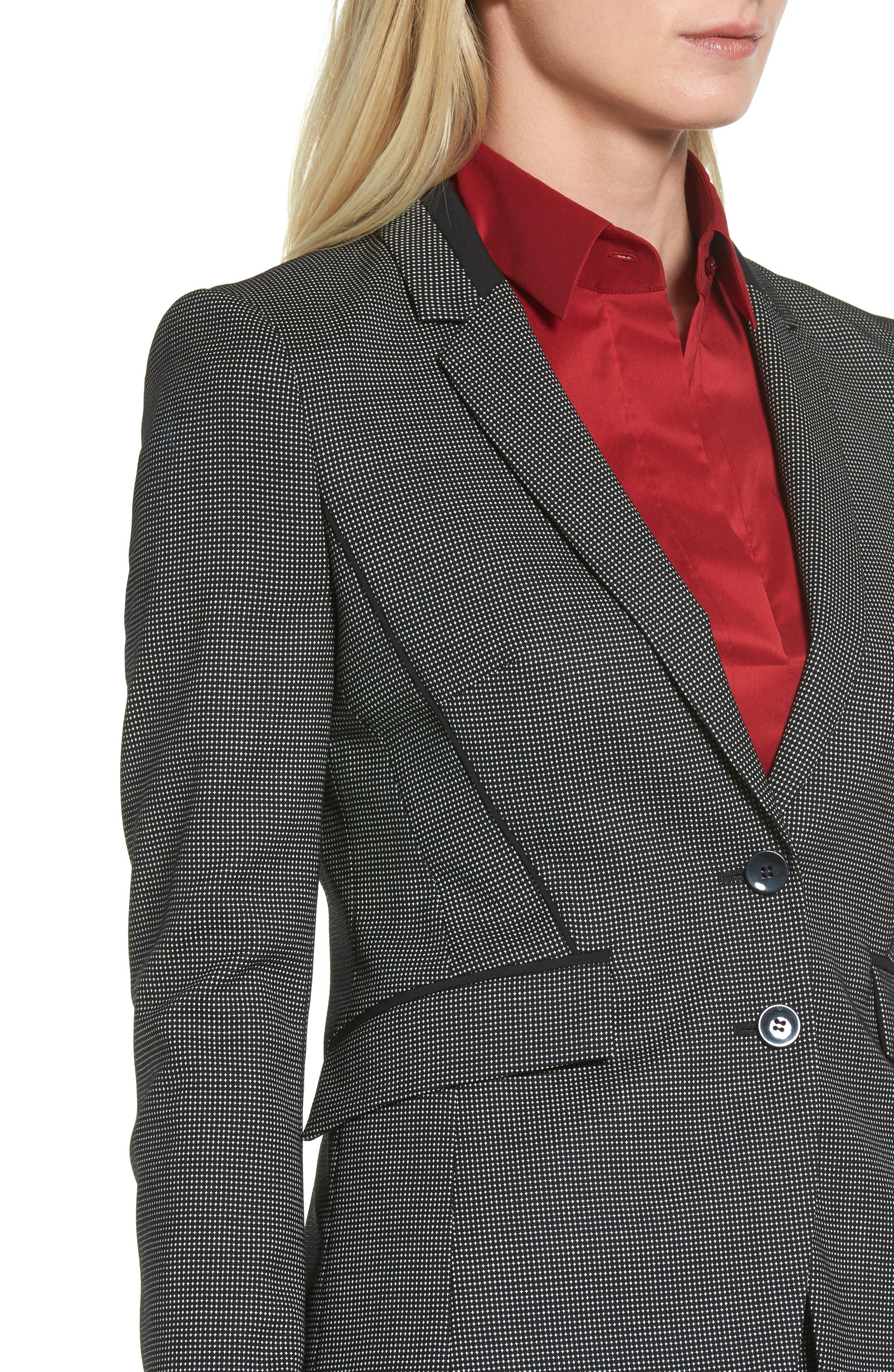 Jelisana Stretch Wool Suit Jacket,                             Alternate thumbnail 5, color,