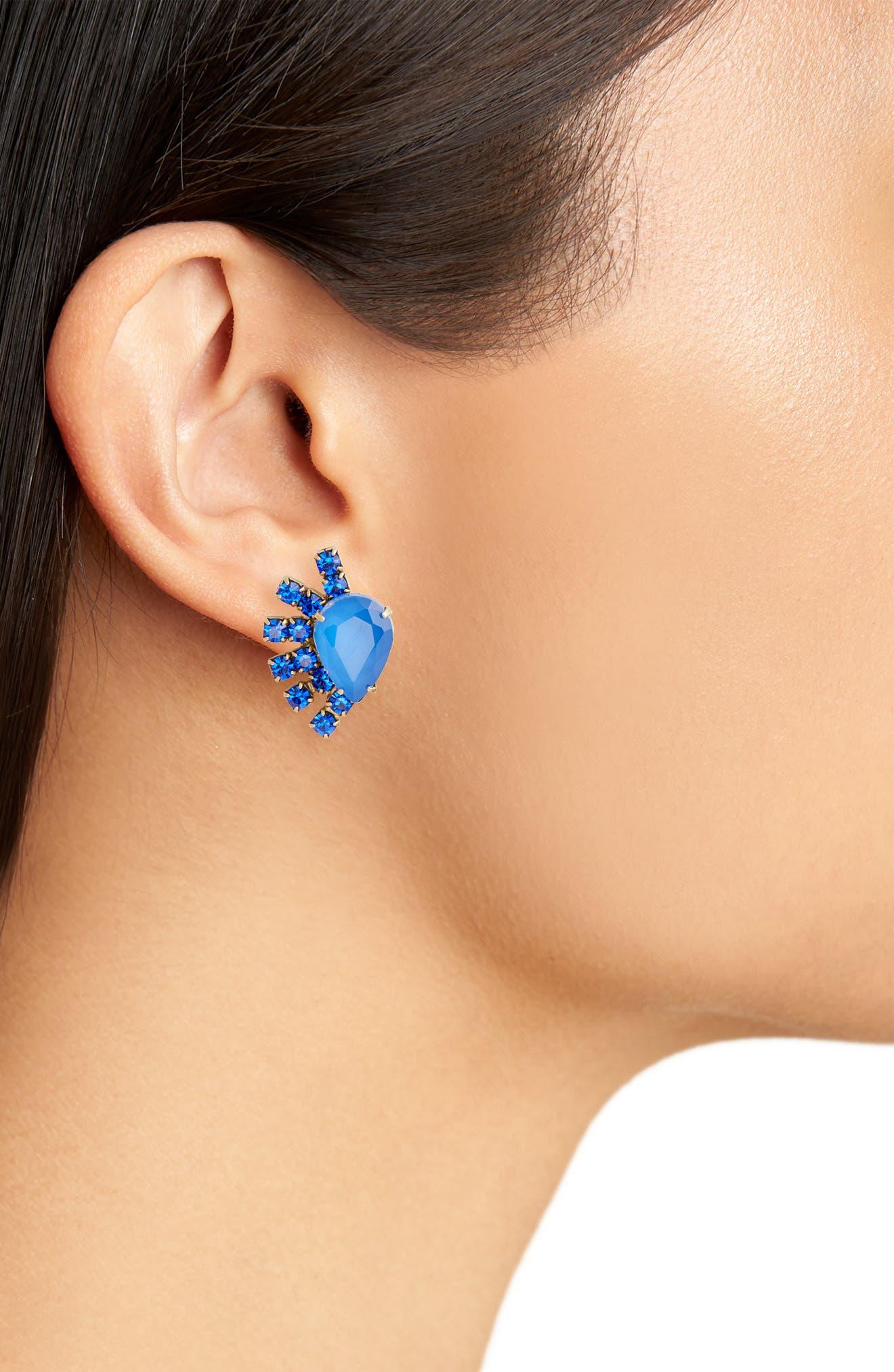 Olivia Stud Earrings,                             Alternate thumbnail 8, color,