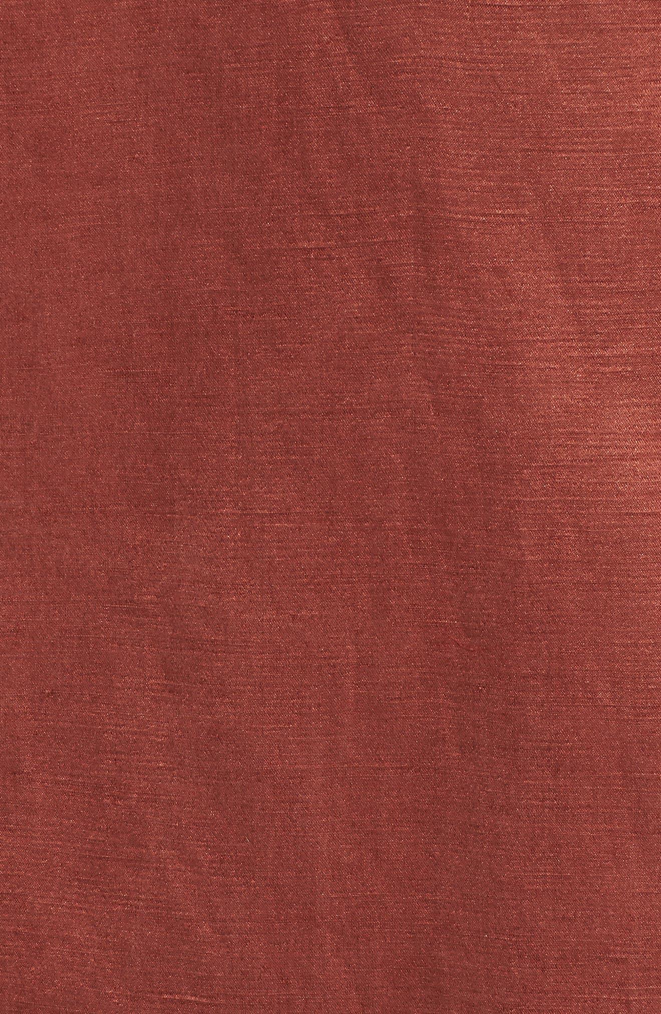High Collar Long Jacket,                             Alternate thumbnail 7, color,                             242