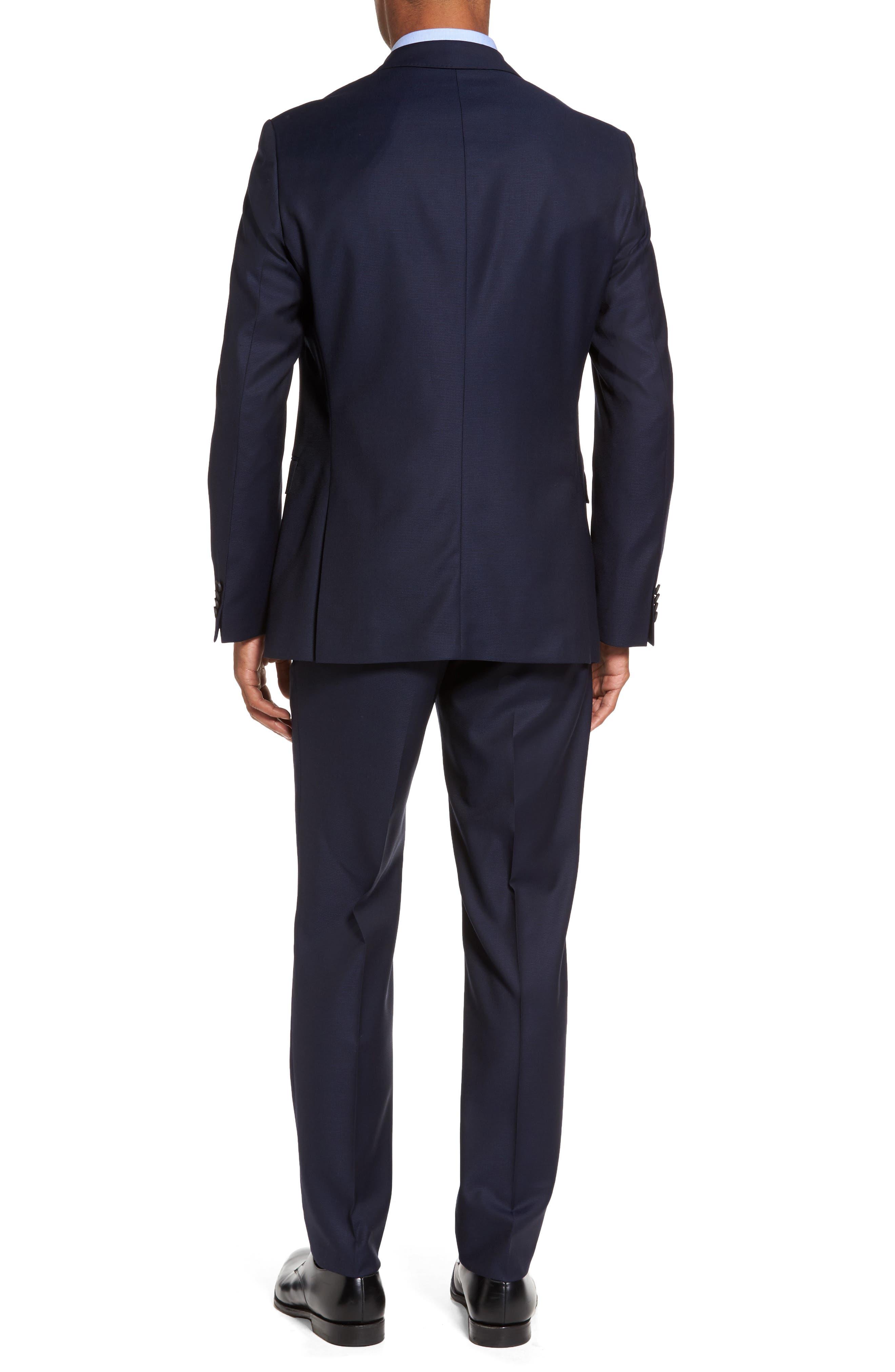 Nestro/Byte Trim Fit Solid Wool Suit,                             Alternate thumbnail 2, color,                             410