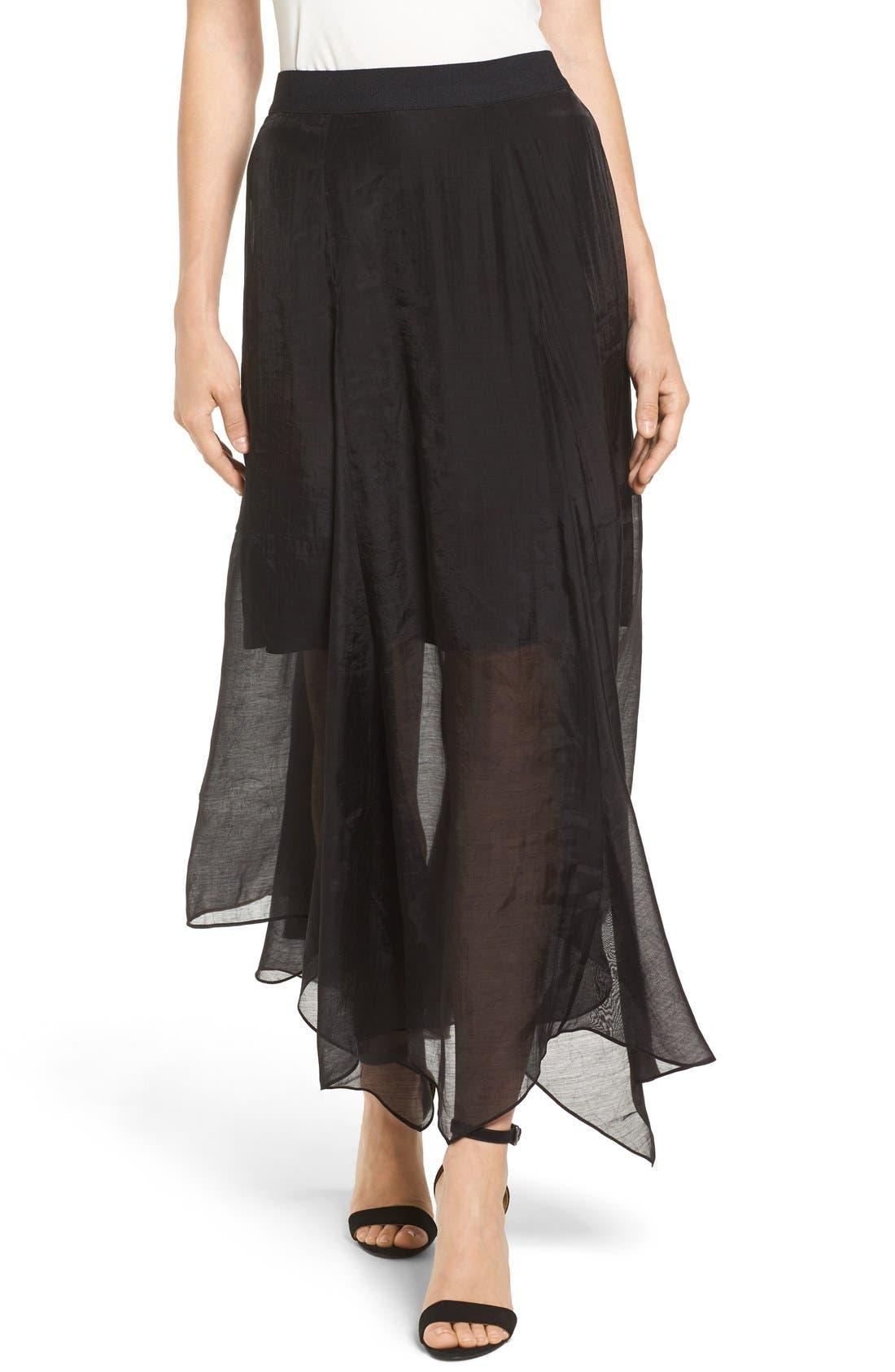 Batiste Party Skirt,                             Main thumbnail 1, color,                             004
