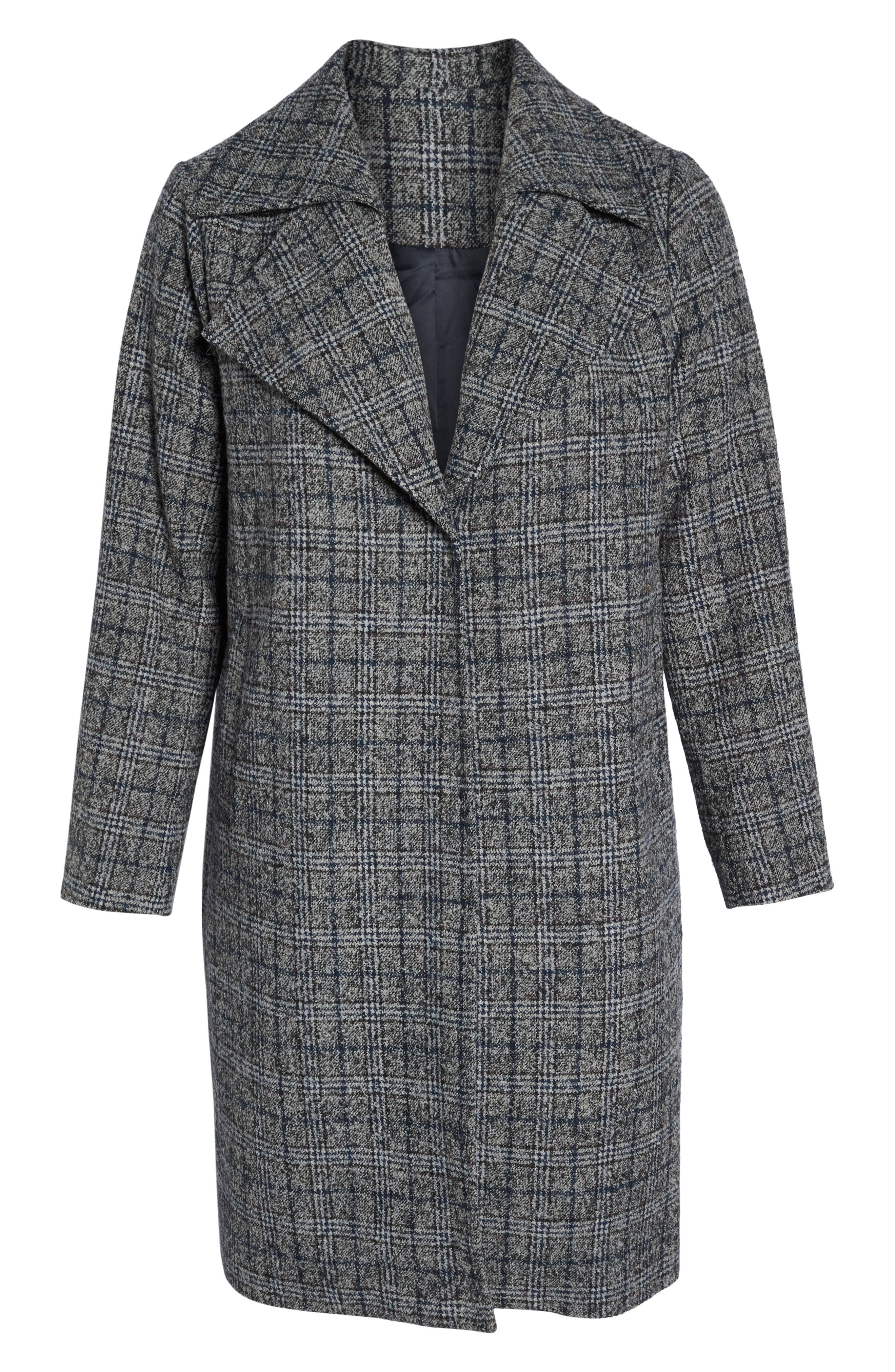Double Fold Collar Coat,                             Alternate thumbnail 6, color,                             450