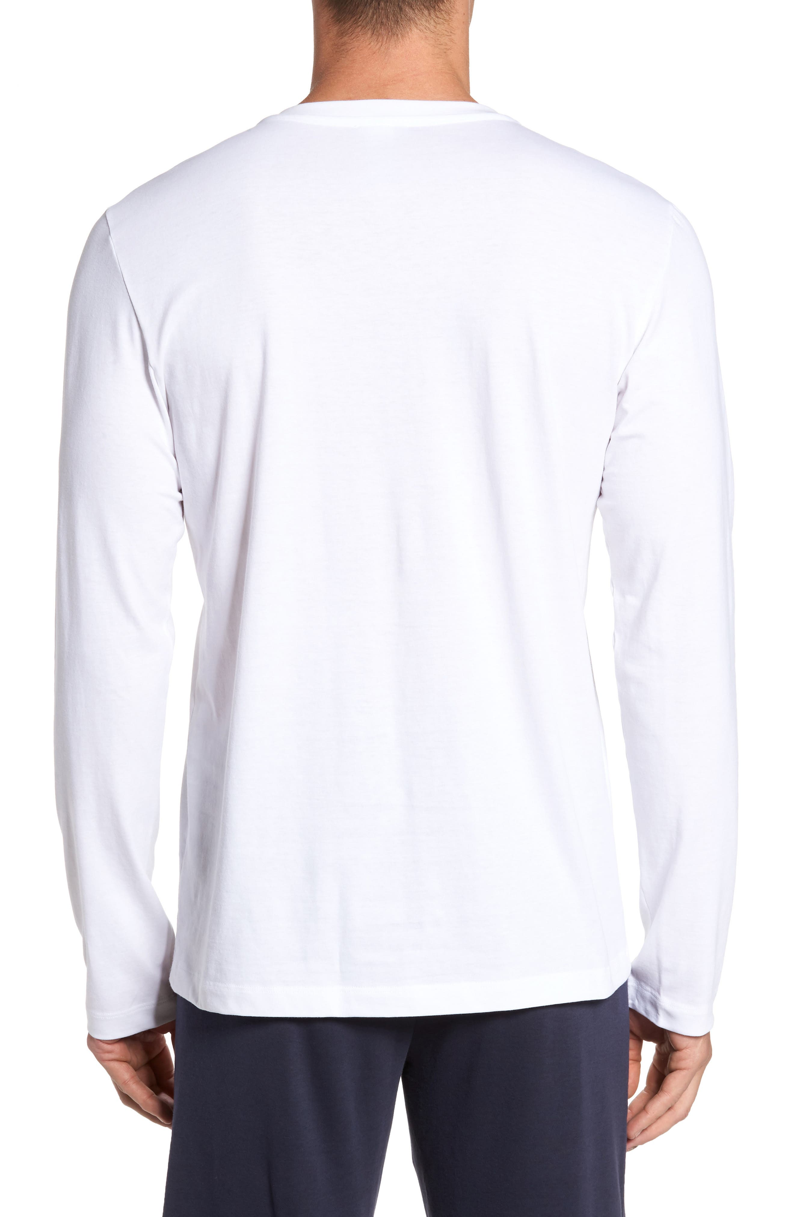 Living Long Sleeve T-Shirt,                             Alternate thumbnail 2, color,                             WHITE