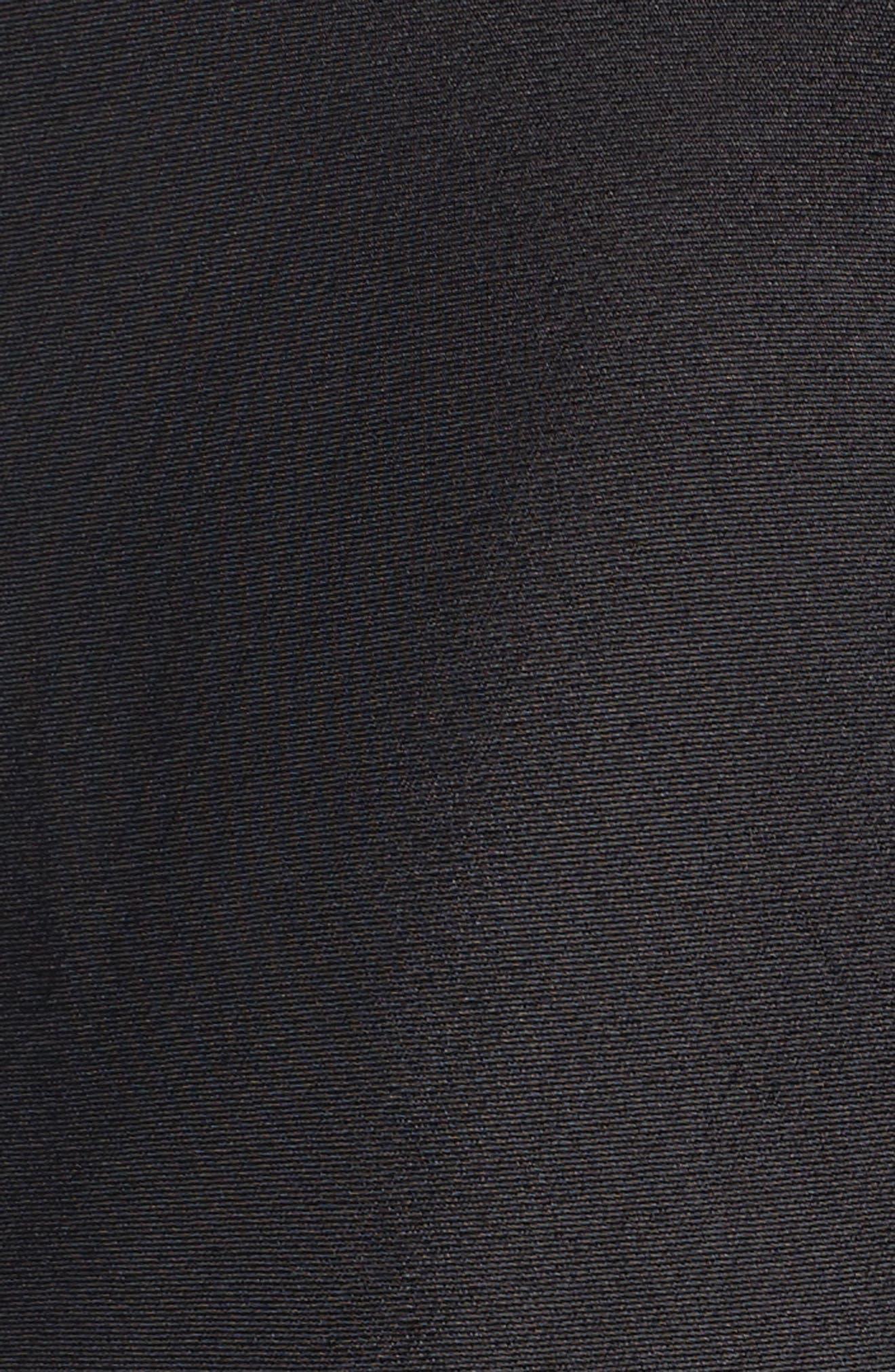 Wyatt Slip Dress,                             Alternate thumbnail 5, color,                             001