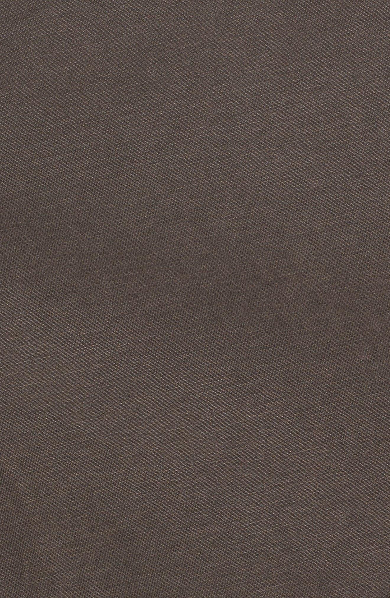 Hooded Cotton Utility Jacket,                             Alternate thumbnail 17, color,