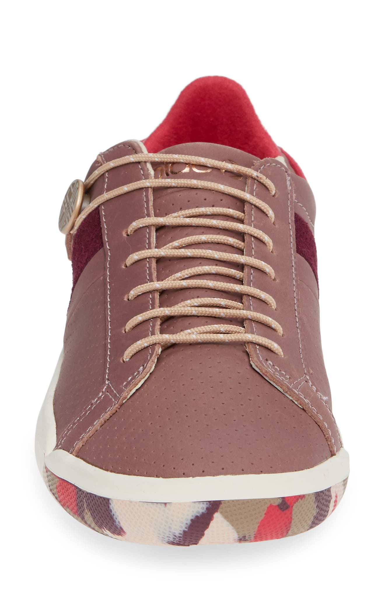 Mulberry Sneaker,                             Alternate thumbnail 4, color,                             SILTSTONE LEATHER