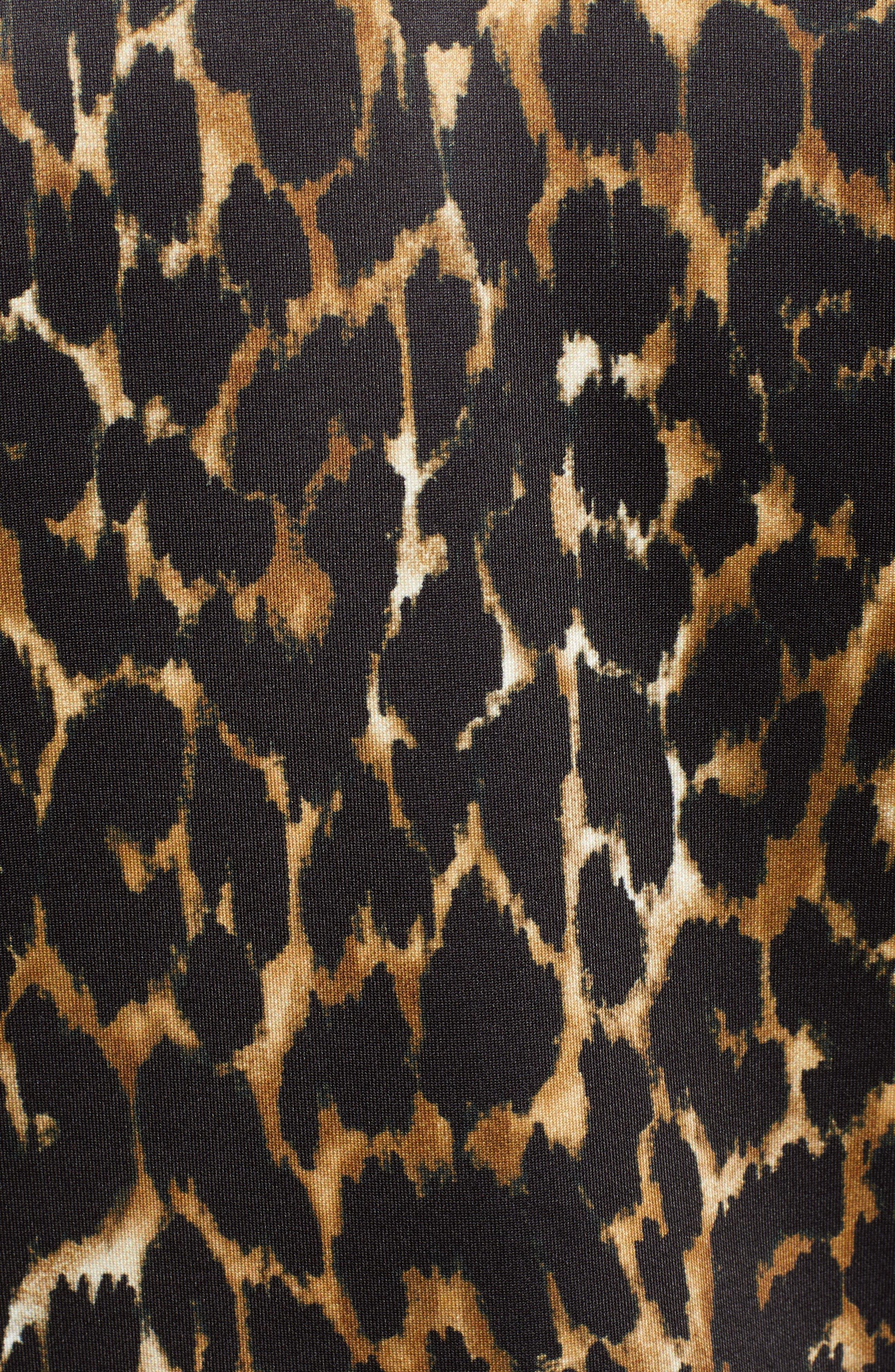 Leopard Track Jacket,                             Alternate thumbnail 7, color,                             234