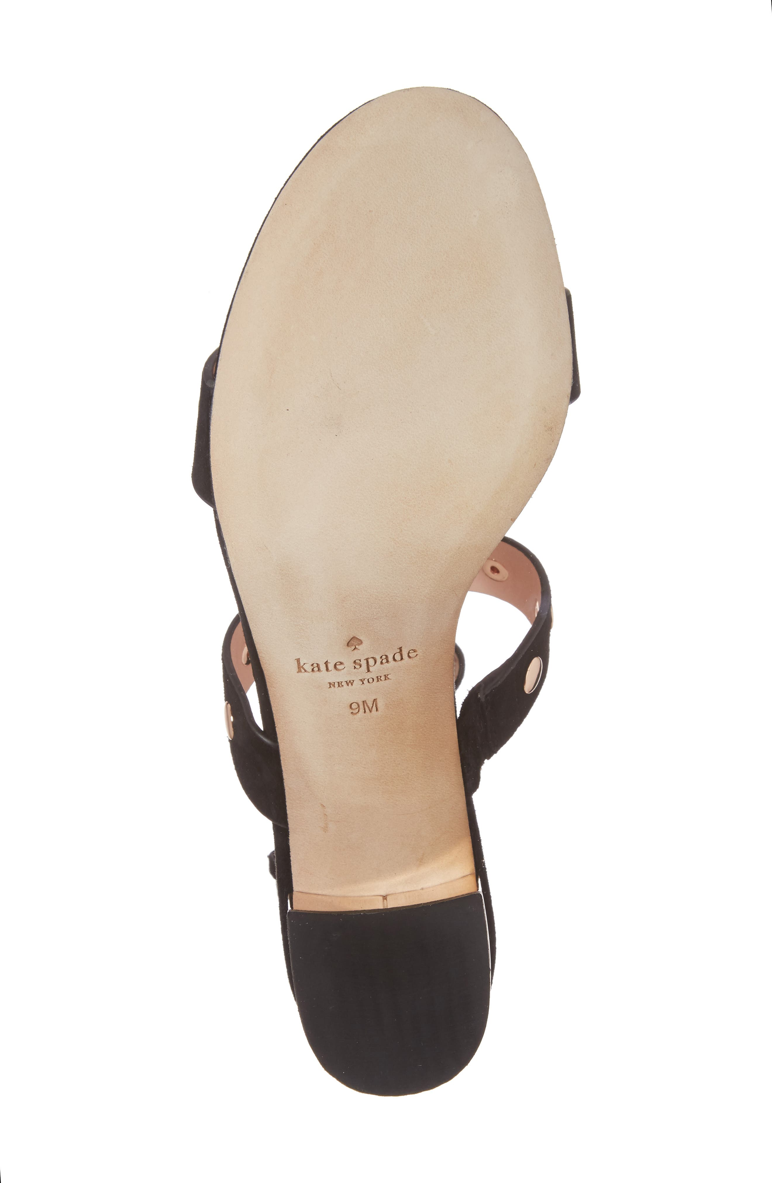 welby t-strap sandal,                             Alternate thumbnail 6, color,                             001