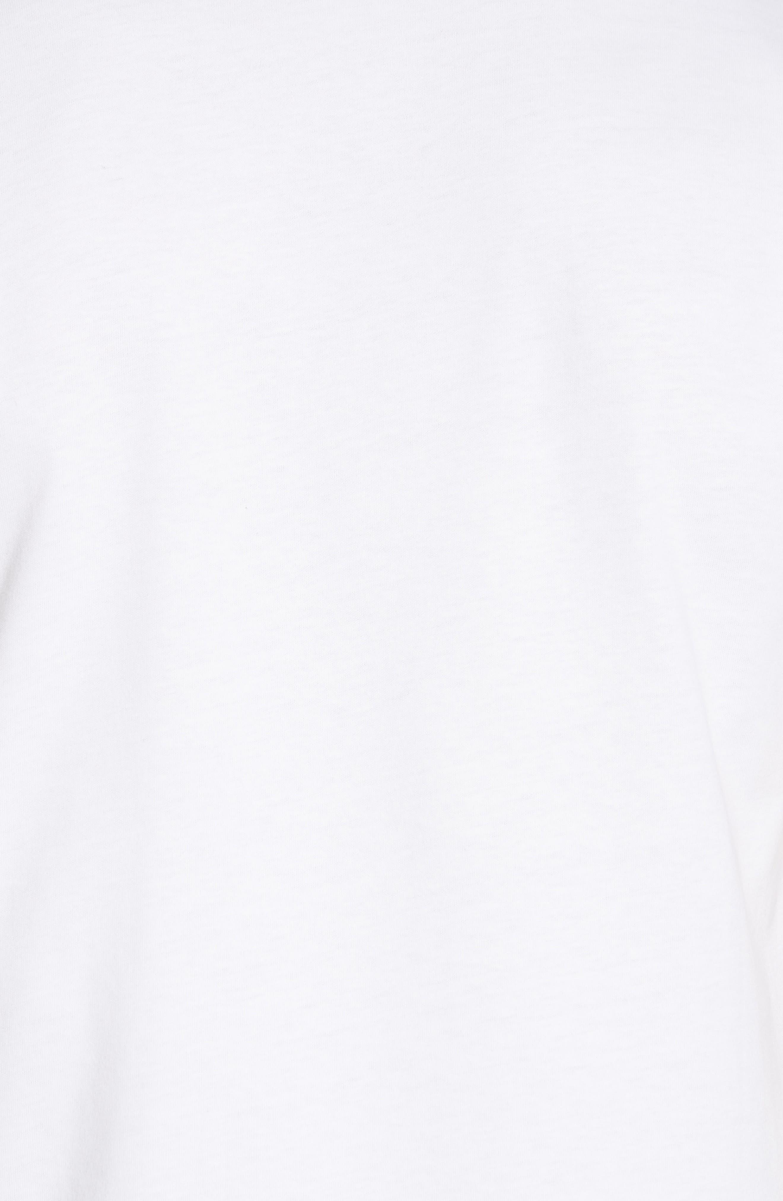 Niels Nærøyfjord Graphic T-Shirt,                             Alternate thumbnail 5, color,                             WHITE