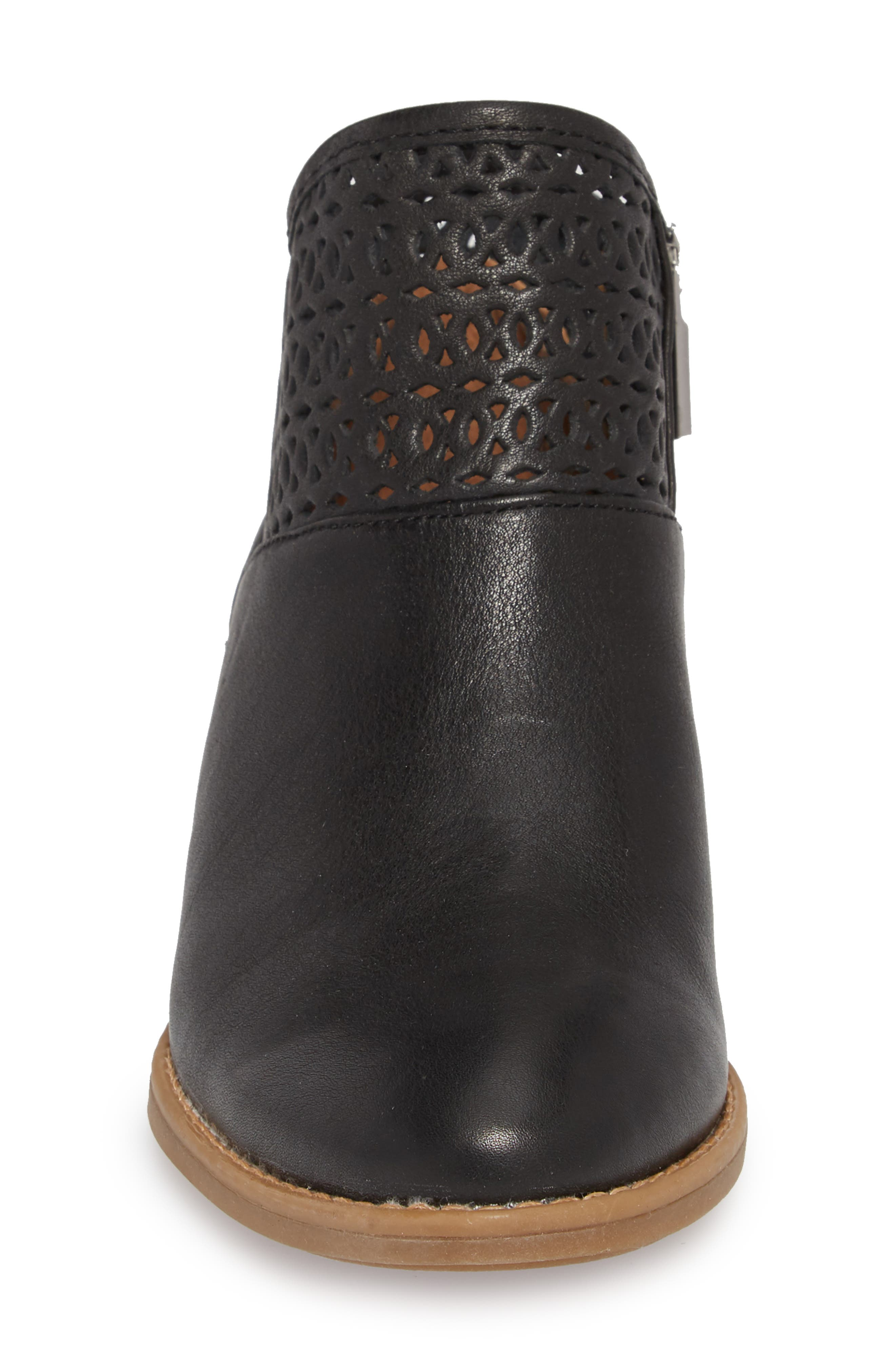 Caileen Bootie,                             Alternate thumbnail 4, color,                             BLACK