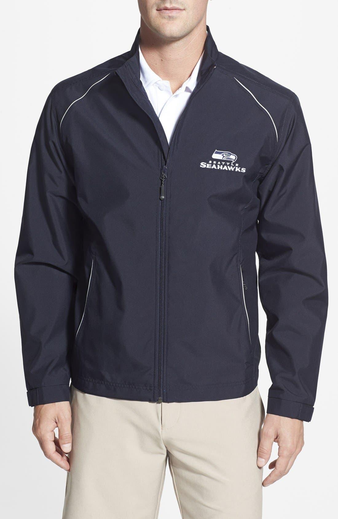 Seattle Seahawks - Beacon WeatherTec Wind & Water Resistant Jacket,                             Main thumbnail 1, color,                             420