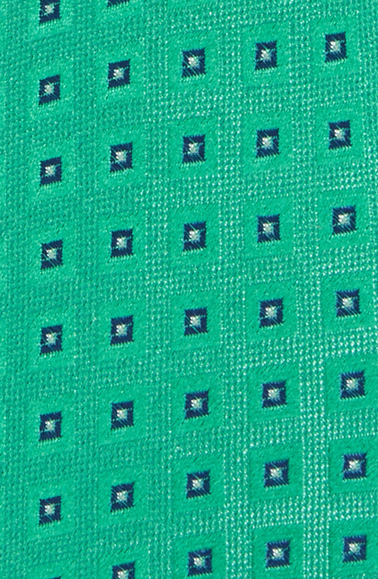 Geometric Silk Tie,                             Alternate thumbnail 2, color,                             300