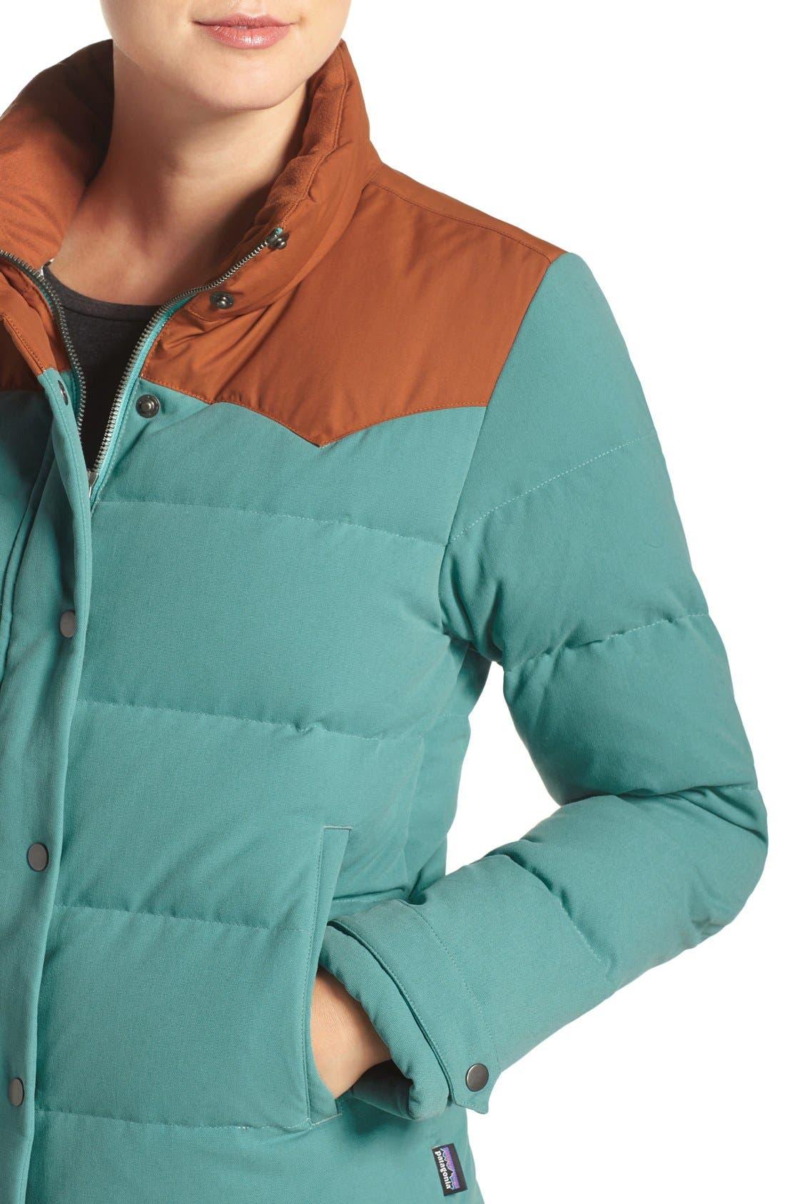 'Bivy' Water Repellent Down Jacket,                             Alternate thumbnail 16, color,