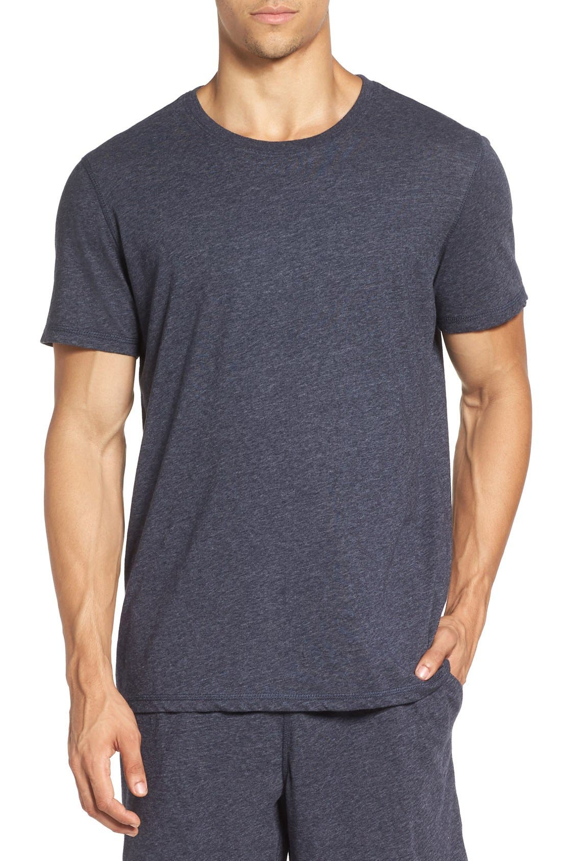Recycled Cotton Blend T-Shirt,                             Main thumbnail 2, color,