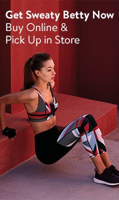 Get Sweaty Betty now. Buy online and pick up in store.