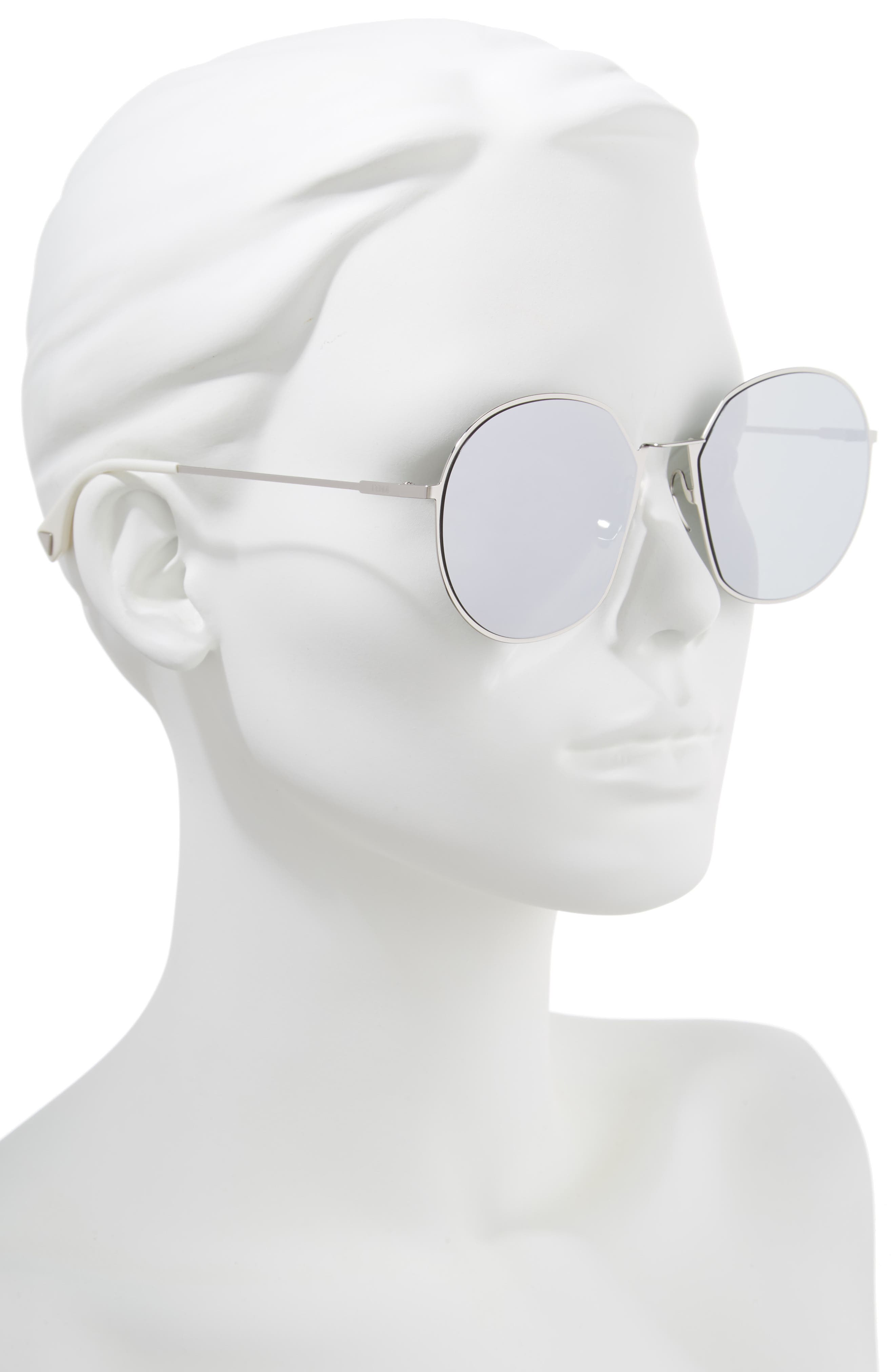 59mm Round Special Fit Sunglasses,                             Alternate thumbnail 6, color,