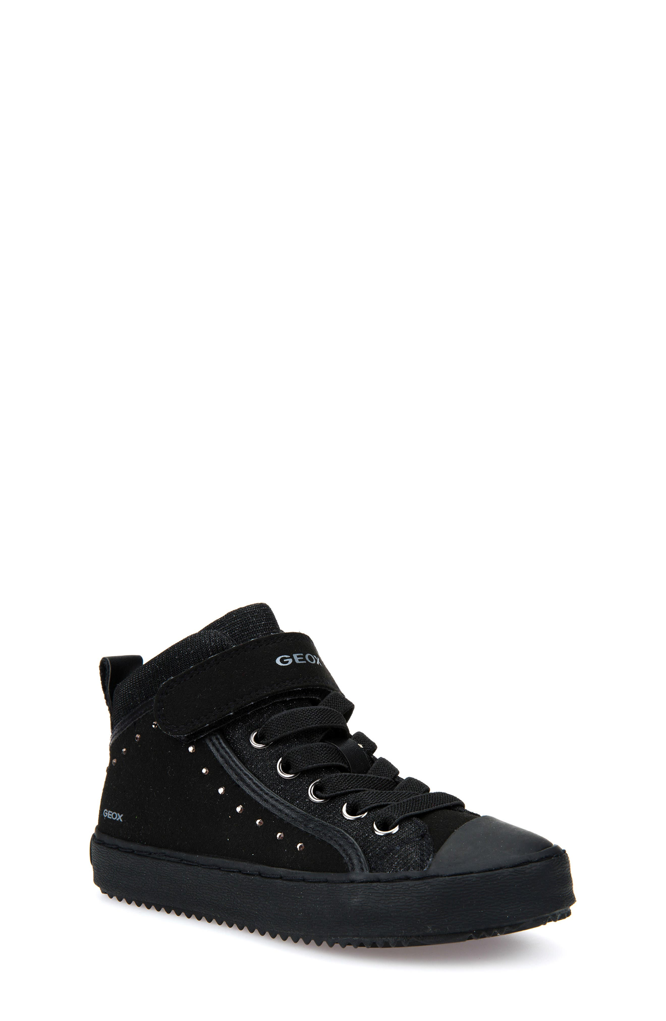 Kalispera High Top Sneaker,                             Main thumbnail 1, color,                             BLACK