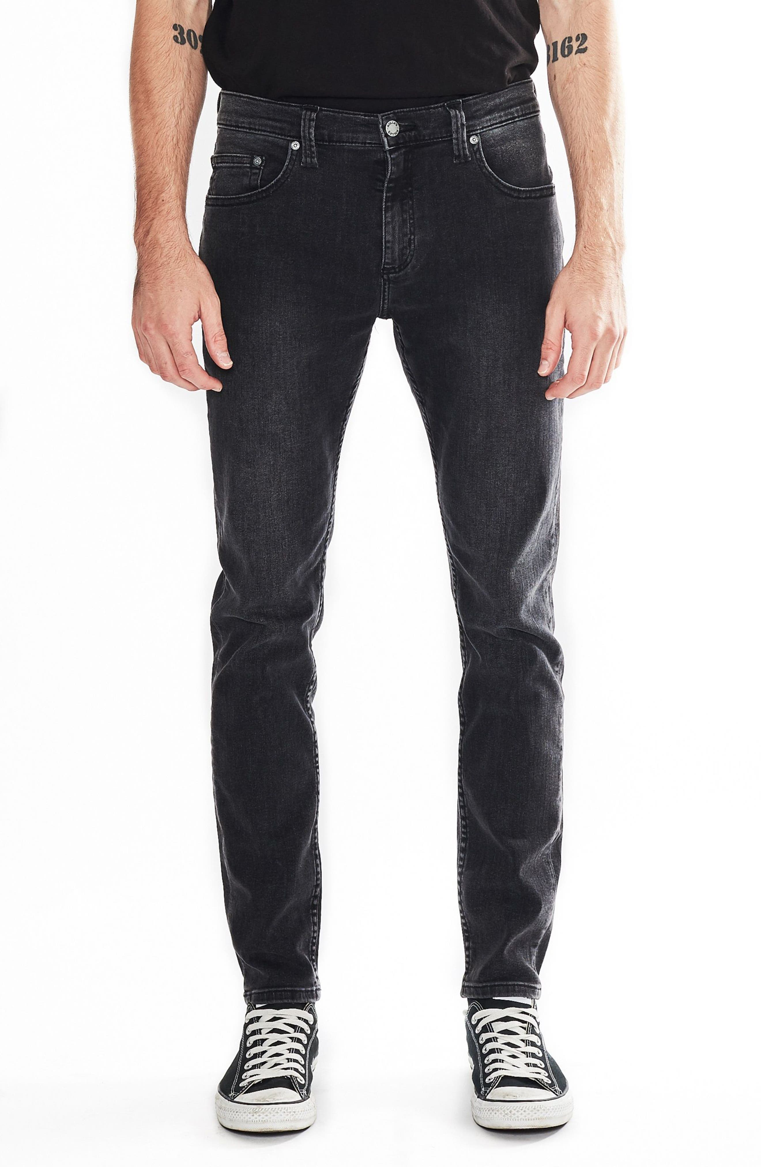 Stinger Skinny Fit Jeans,                             Main thumbnail 1, color,                             OLD GOLD