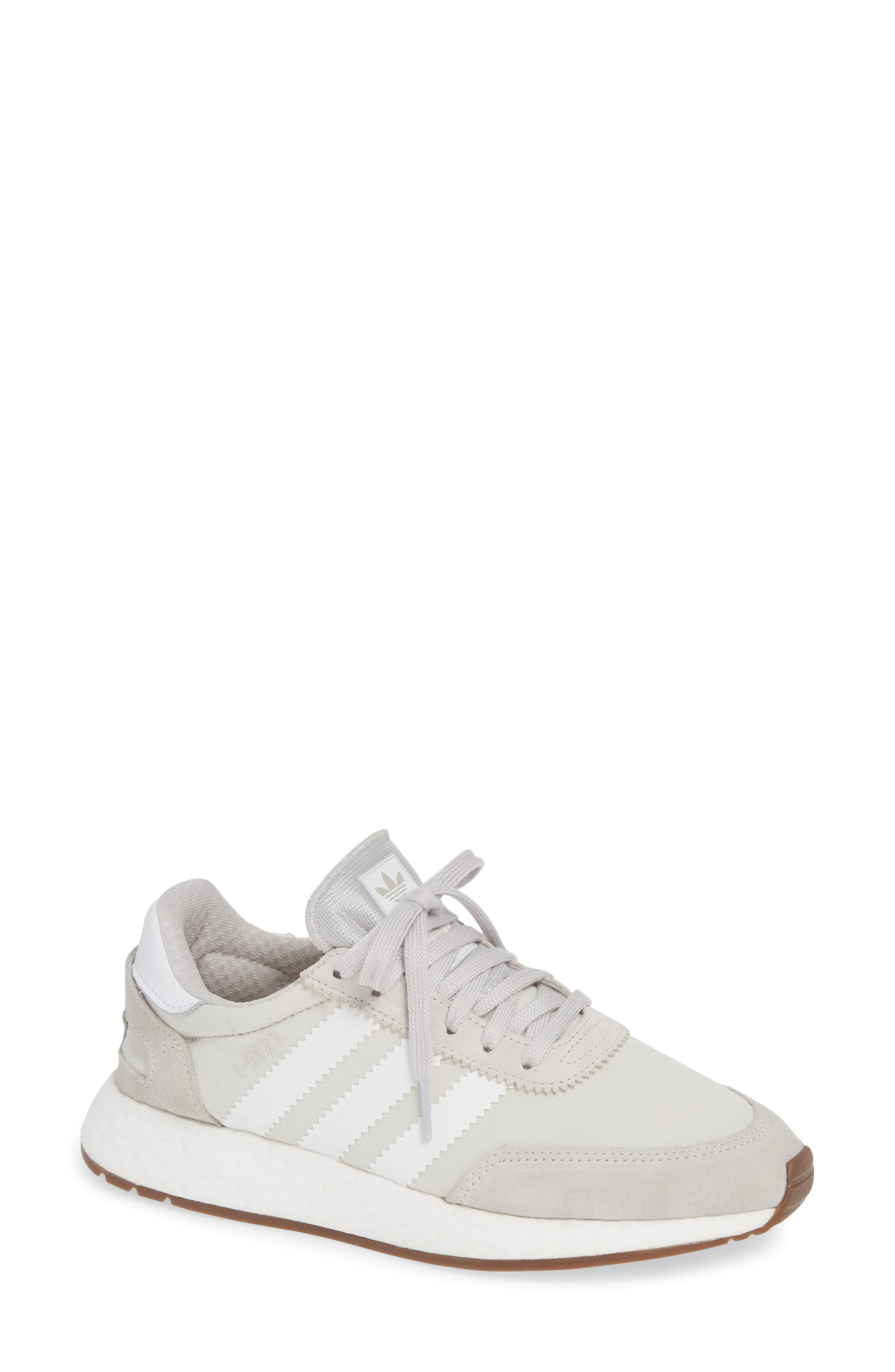 I-5923 Sneaker,                             Main thumbnail 1, color,                             GREY ONE/ WHITE/ GREY FIVE