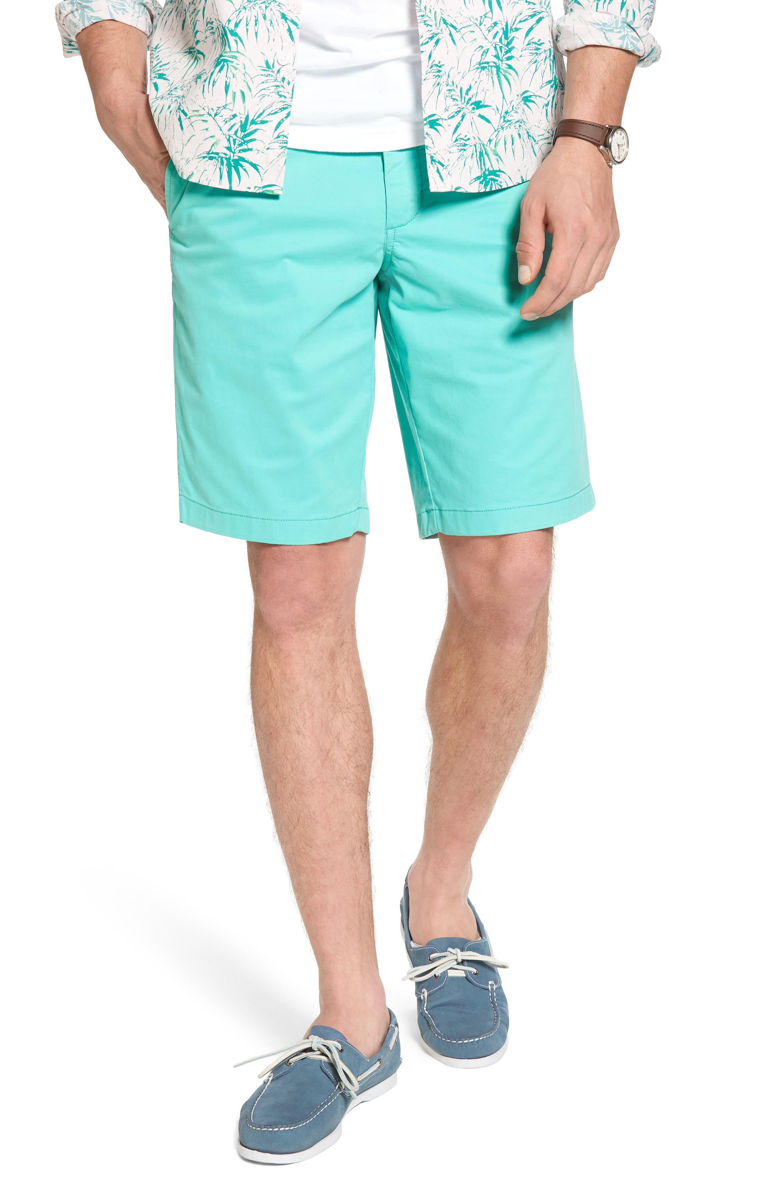 Ballard Slim Fit Stretch Chino 11-Inch Shorts,                             Main thumbnail 8, color,