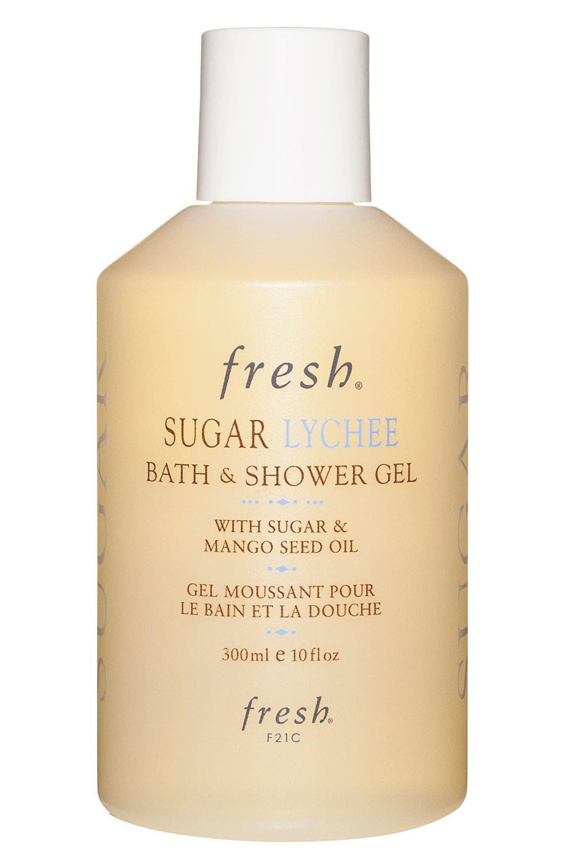 Sugar Lychee Bath & Shower Gel,                             Main thumbnail 1, color,                             NO COLOR