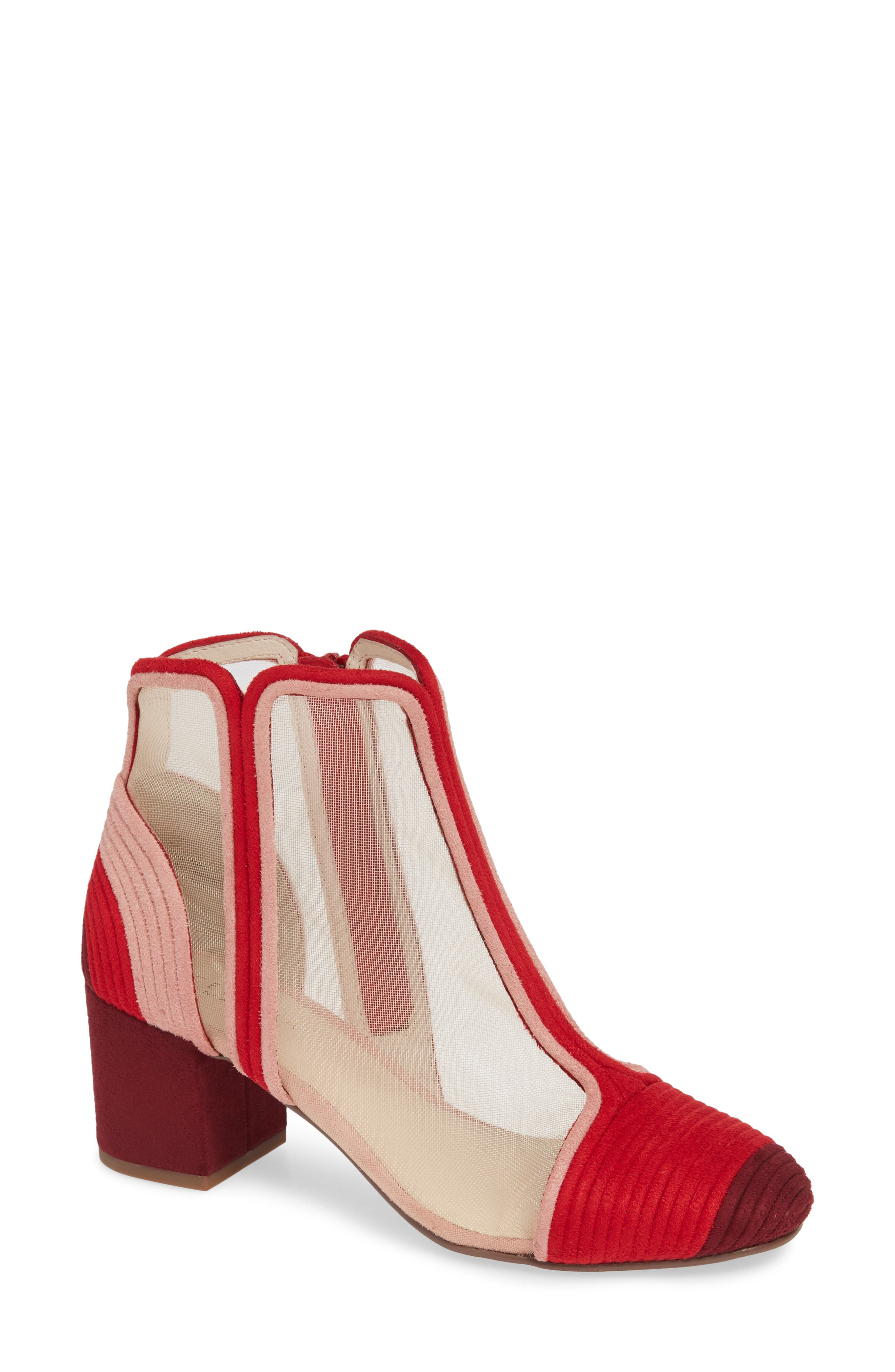 CECELIA NEW YORK,                             Neely Bootie,                             Main thumbnail 1, color,                             PINOT SUEDE