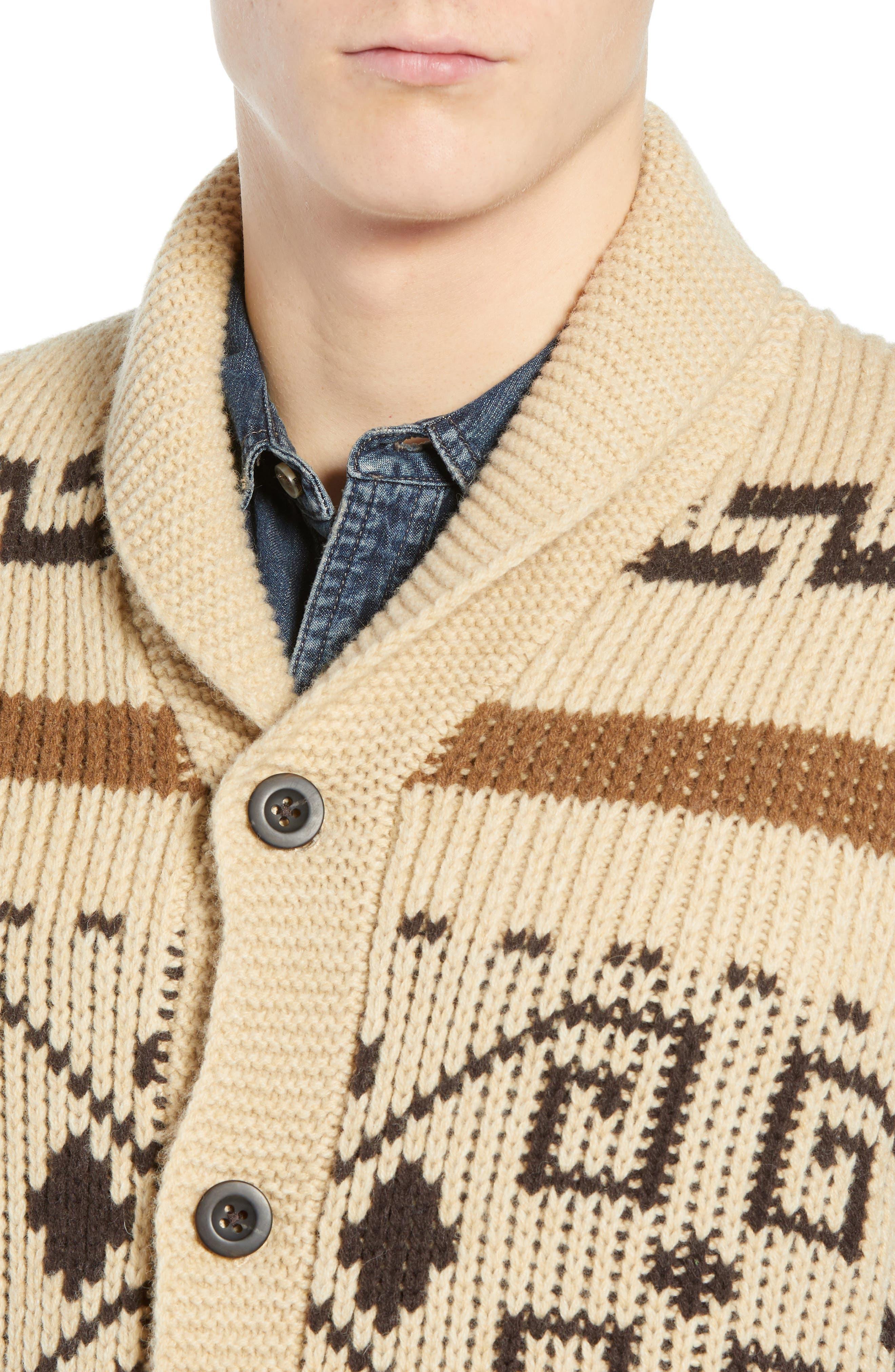 Original Westerley Sweater Vest,                             Alternate thumbnail 4, color,                             TAN/ BROWN